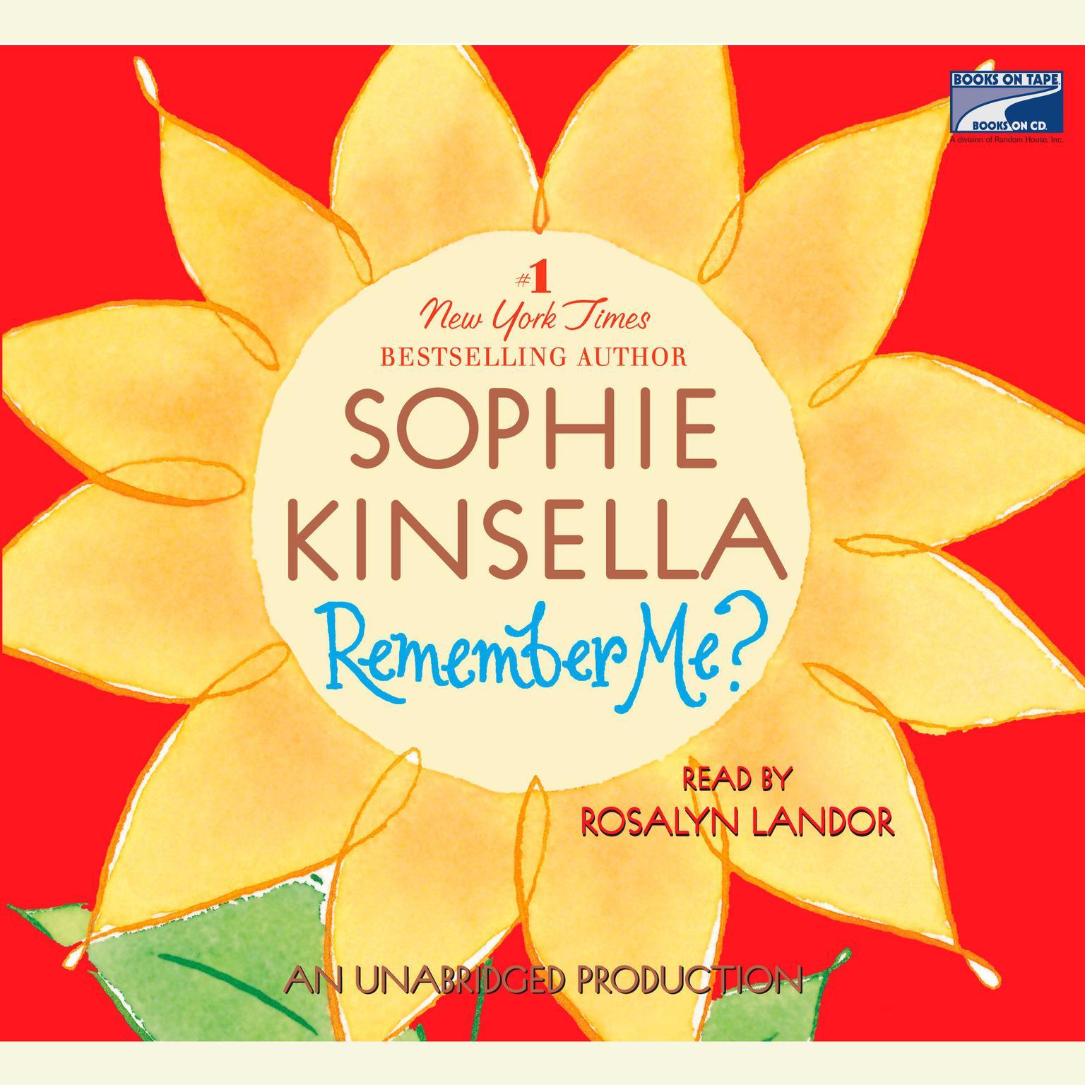 Printable Remember Me? Audiobook Cover Art
