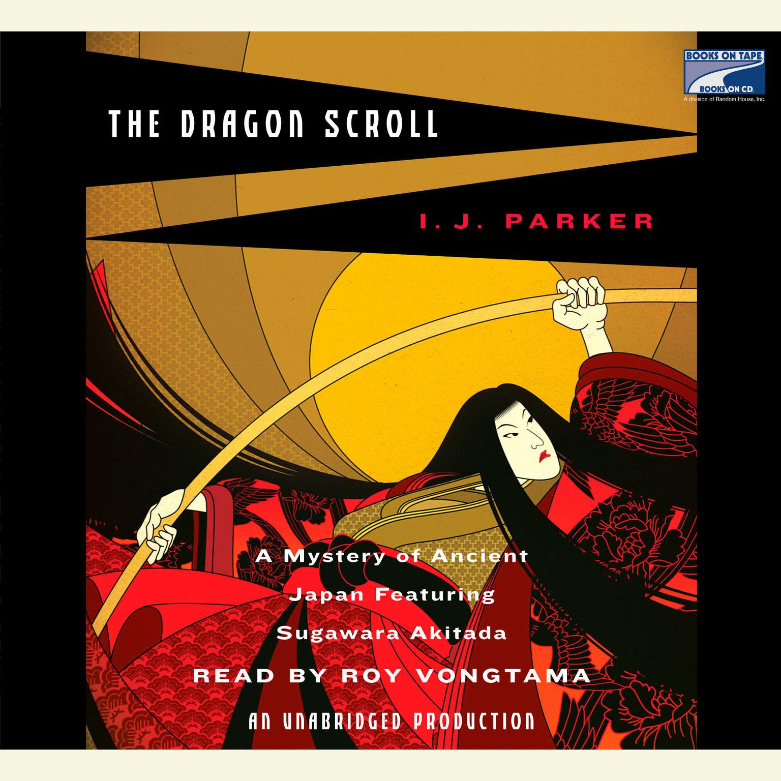 Printable The Dragon Scroll Audiobook Cover Art