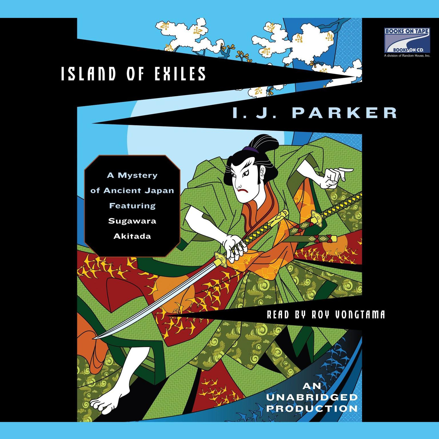Printable Island of Exiles: A Mystery of Ancient Japan Audiobook Cover Art