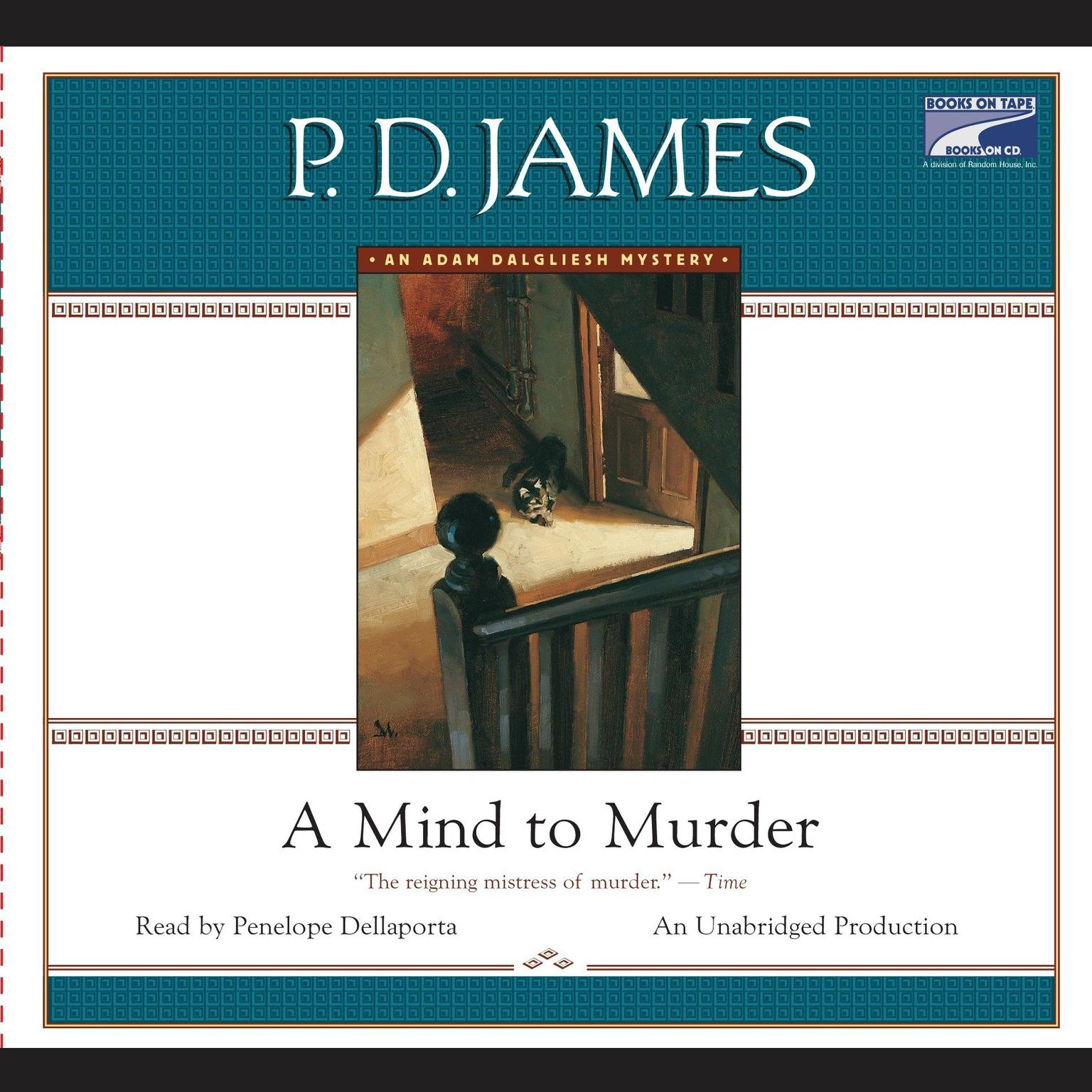 Printable A Mind to Murder Audiobook Cover Art