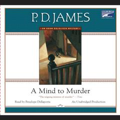 A Mind to Murder Audiobook, by P. D. James