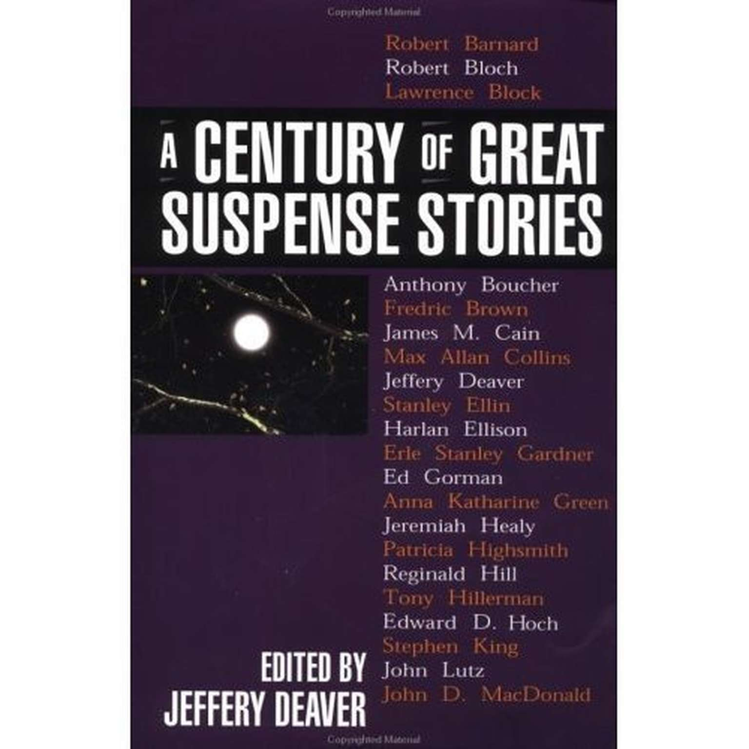 Printable A Century of Great Suspense Stories Audiobook Cover Art