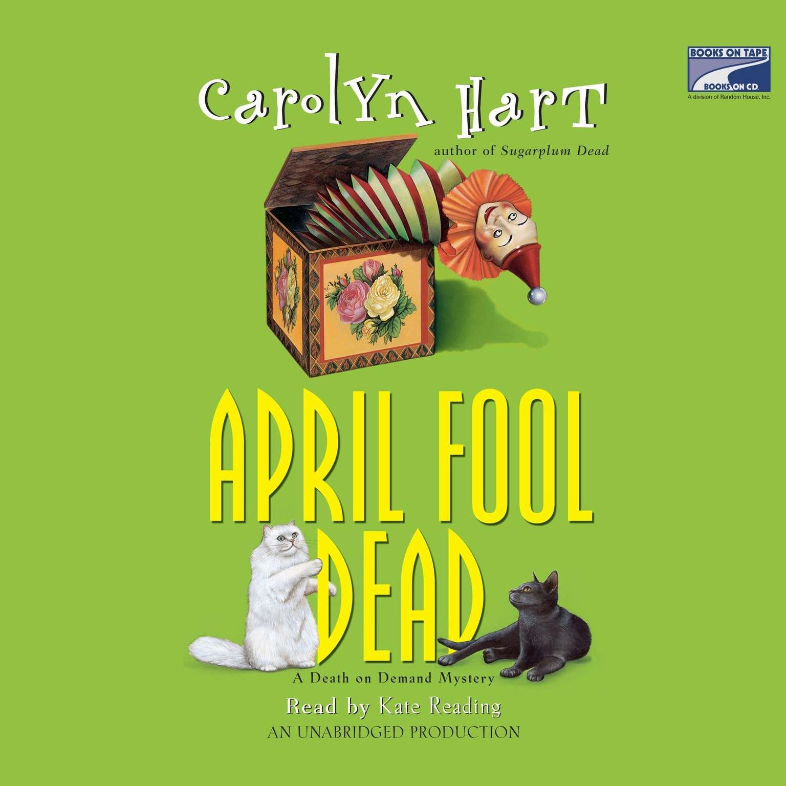 Printable April Fool Dead Audiobook Cover Art