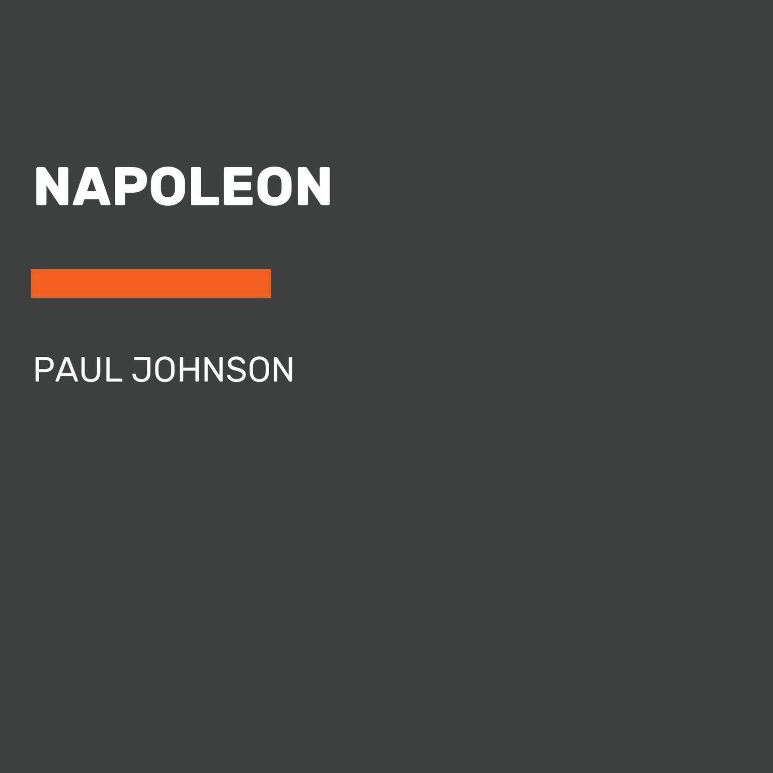 Napoleon Audiobook, by Paul Johnson