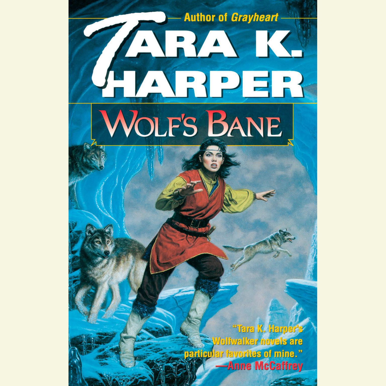 Printable Wolf's Bane Audiobook Cover Art