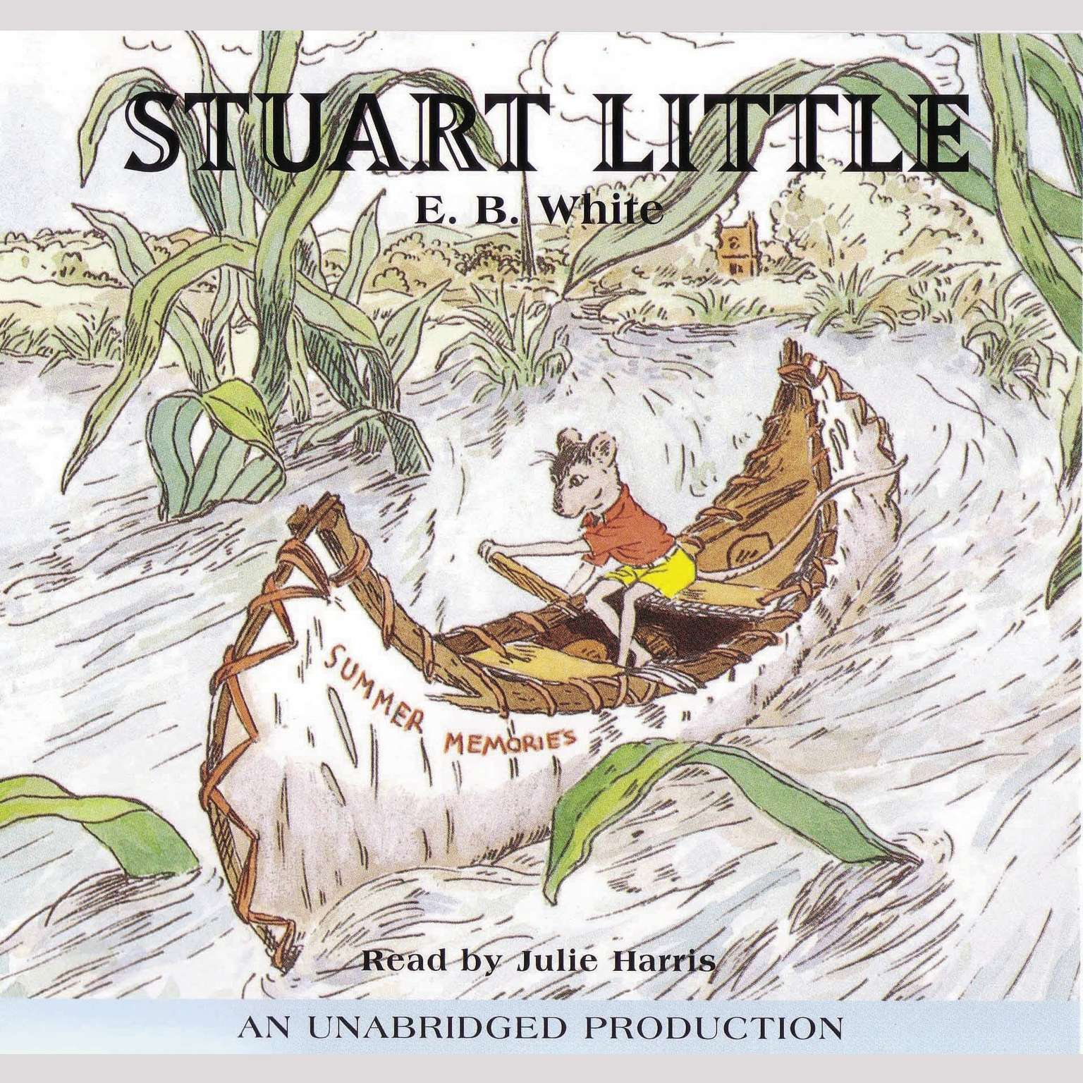 Printable Stuart Little Audiobook Cover Art