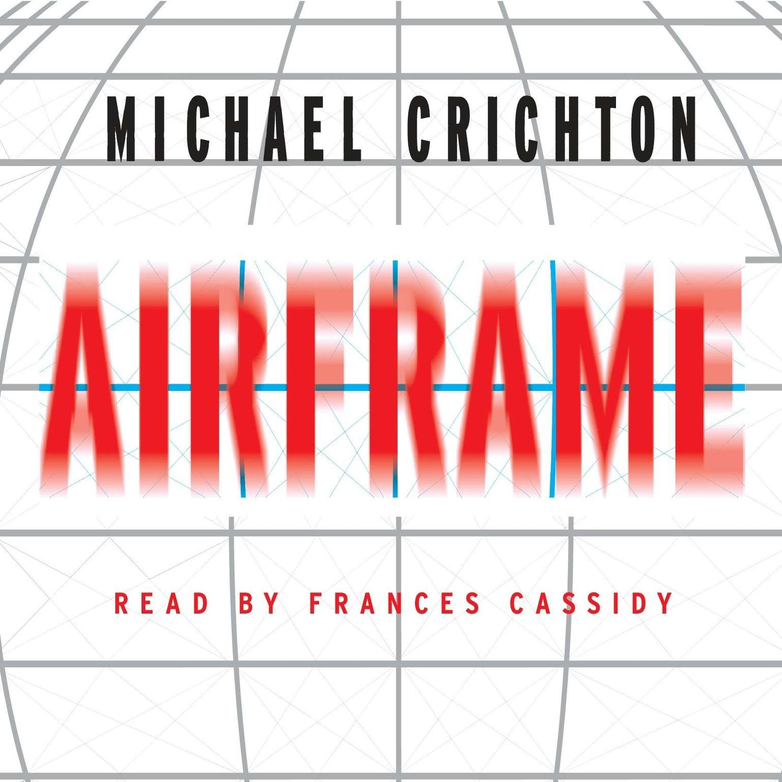 Printable Airframe: A Novel Audiobook Cover Art