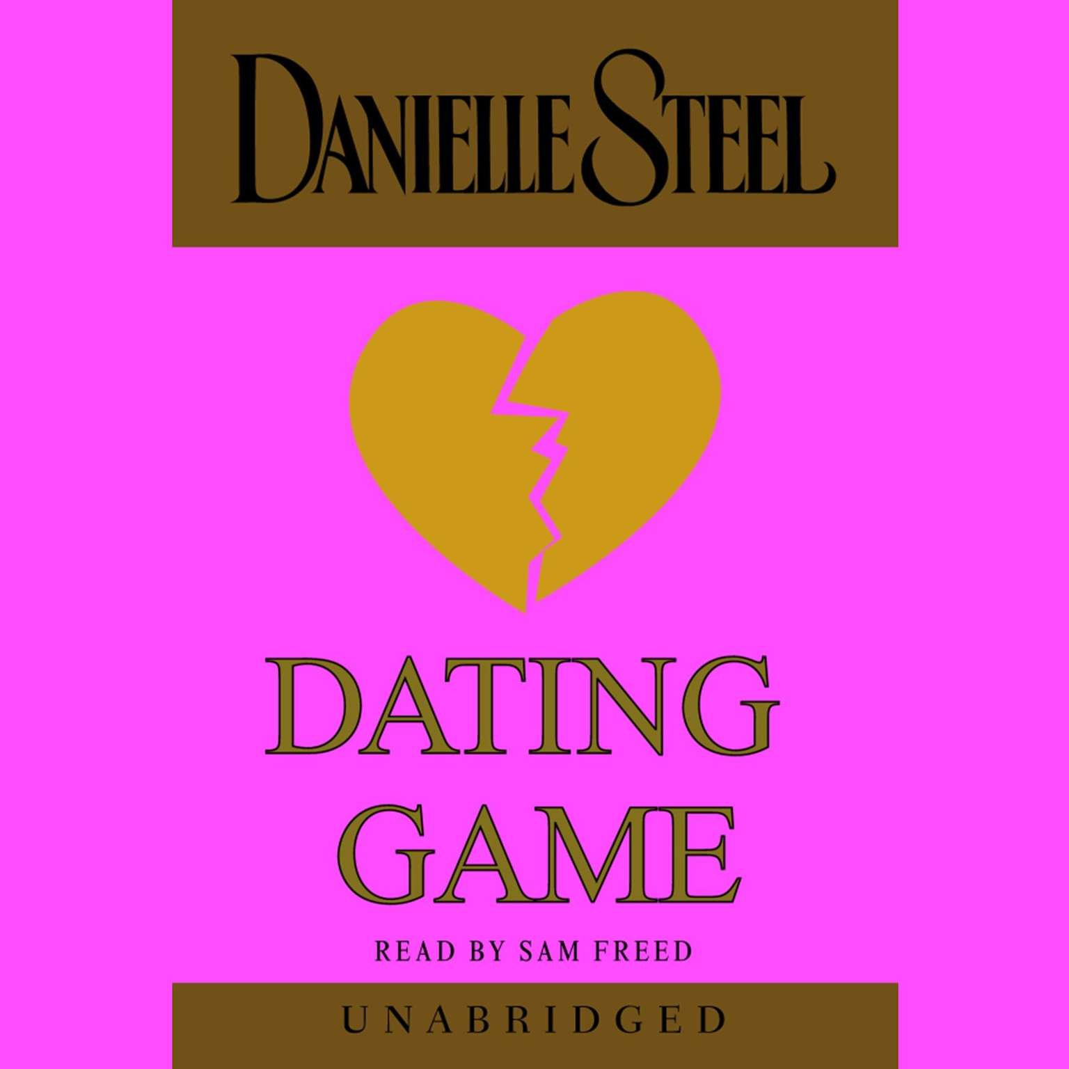 Printable Dating Game Audiobook Cover Art