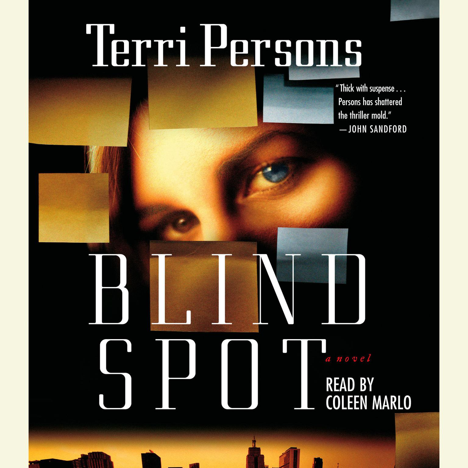 Printable Blind Spot Audiobook Cover Art