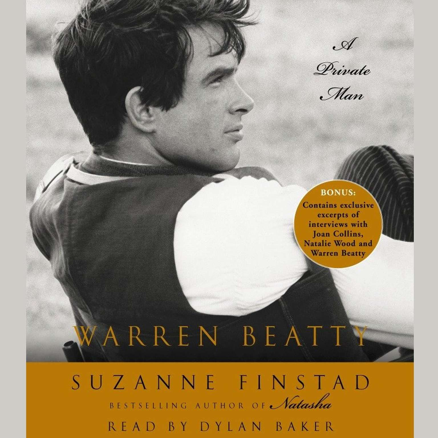 Printable Warren Beatty: A Private Man Audiobook Cover Art
