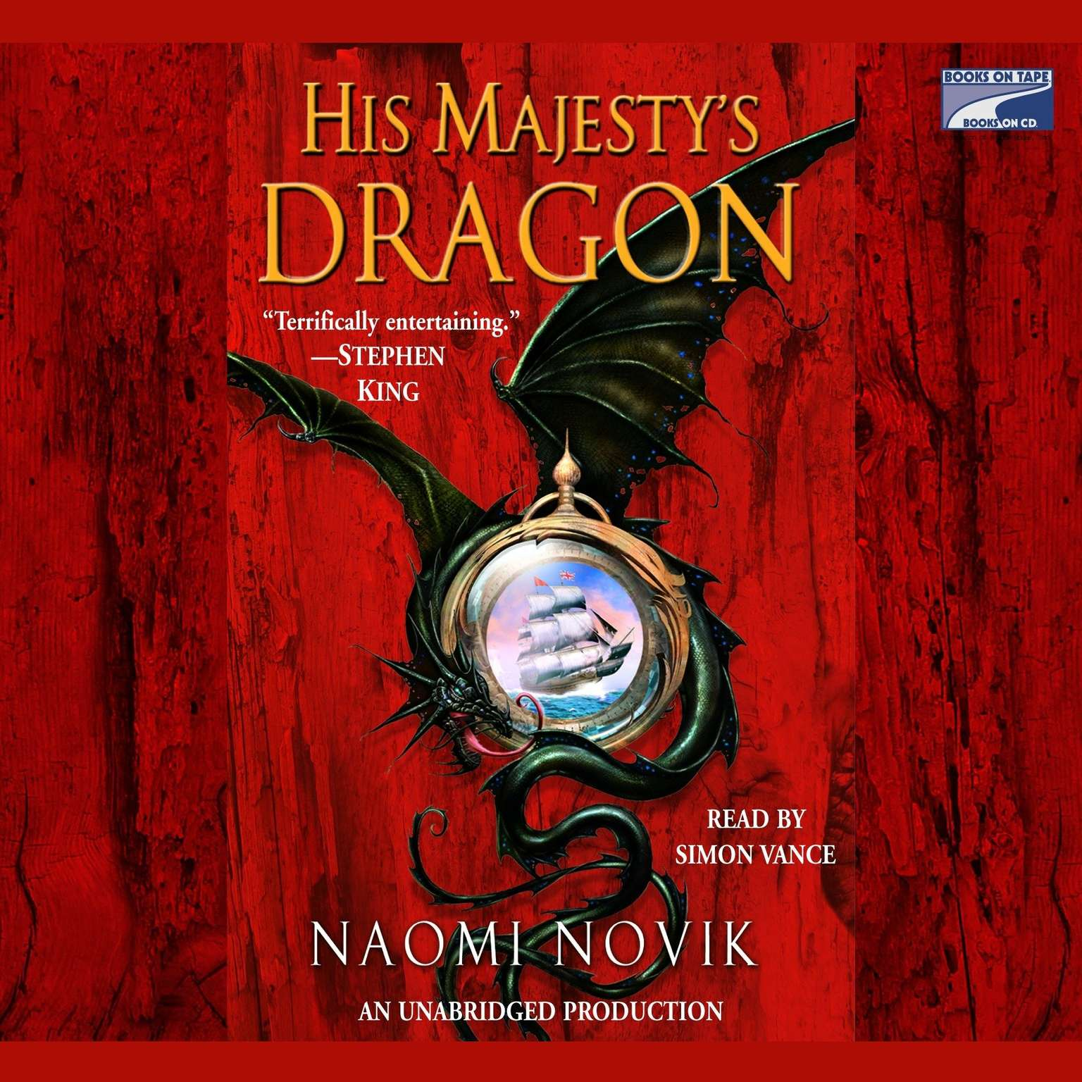 Printable His Majesty's Dragon Audiobook Cover Art