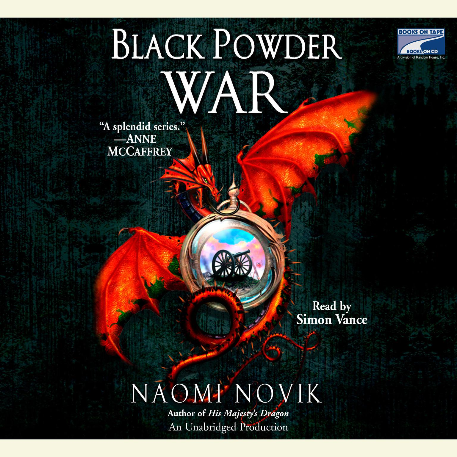 Printable Black Powder War Audiobook Cover Art