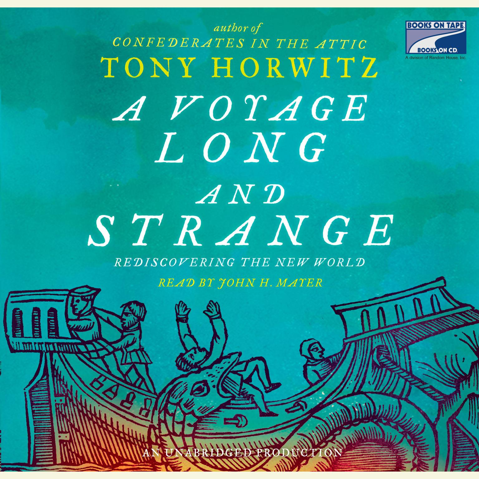 Printable A Voyage Long and Strange: Rediscovering the New World Audiobook Cover Art