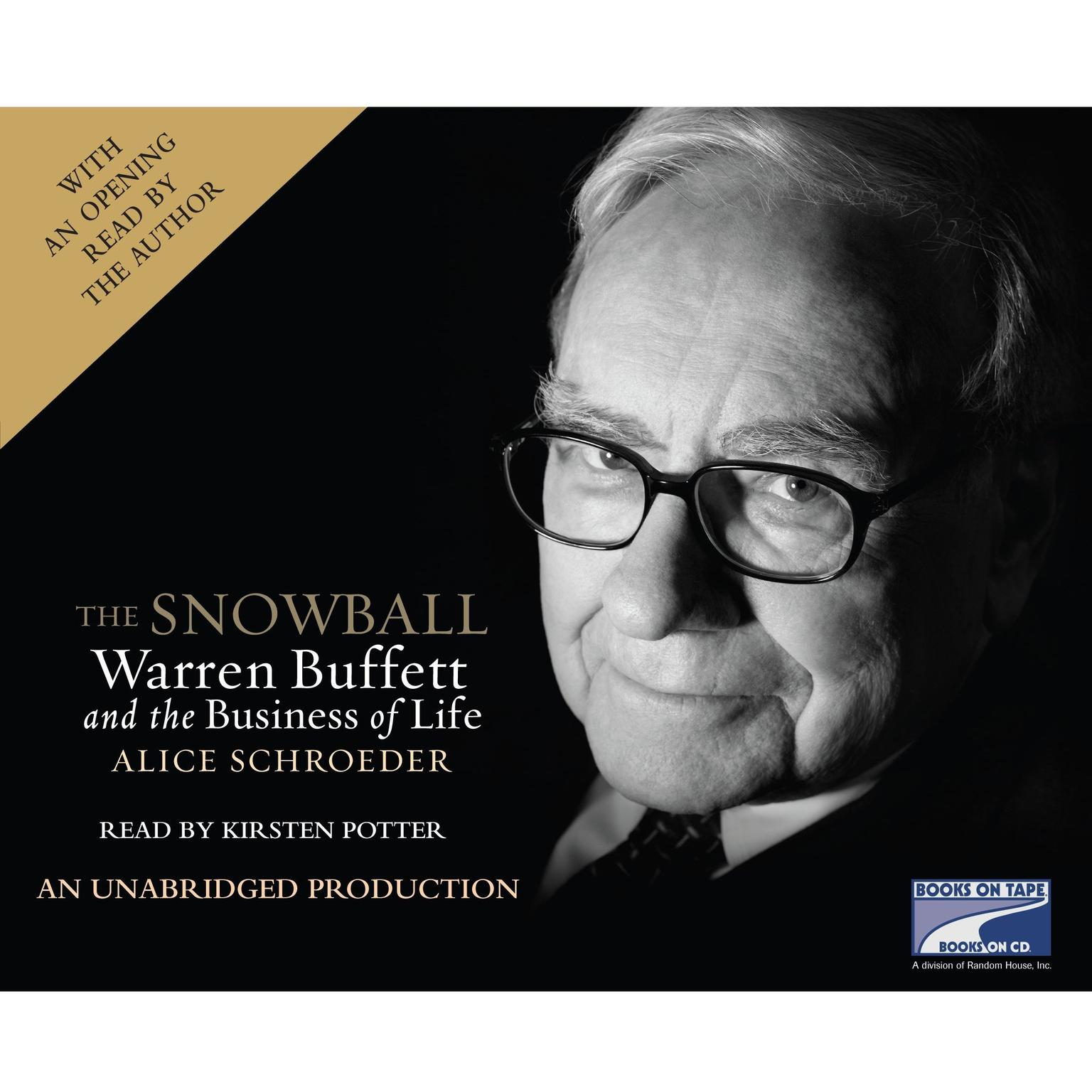 Printable The Snowball: Warren Buffett and the Business of Life Audiobook Cover Art