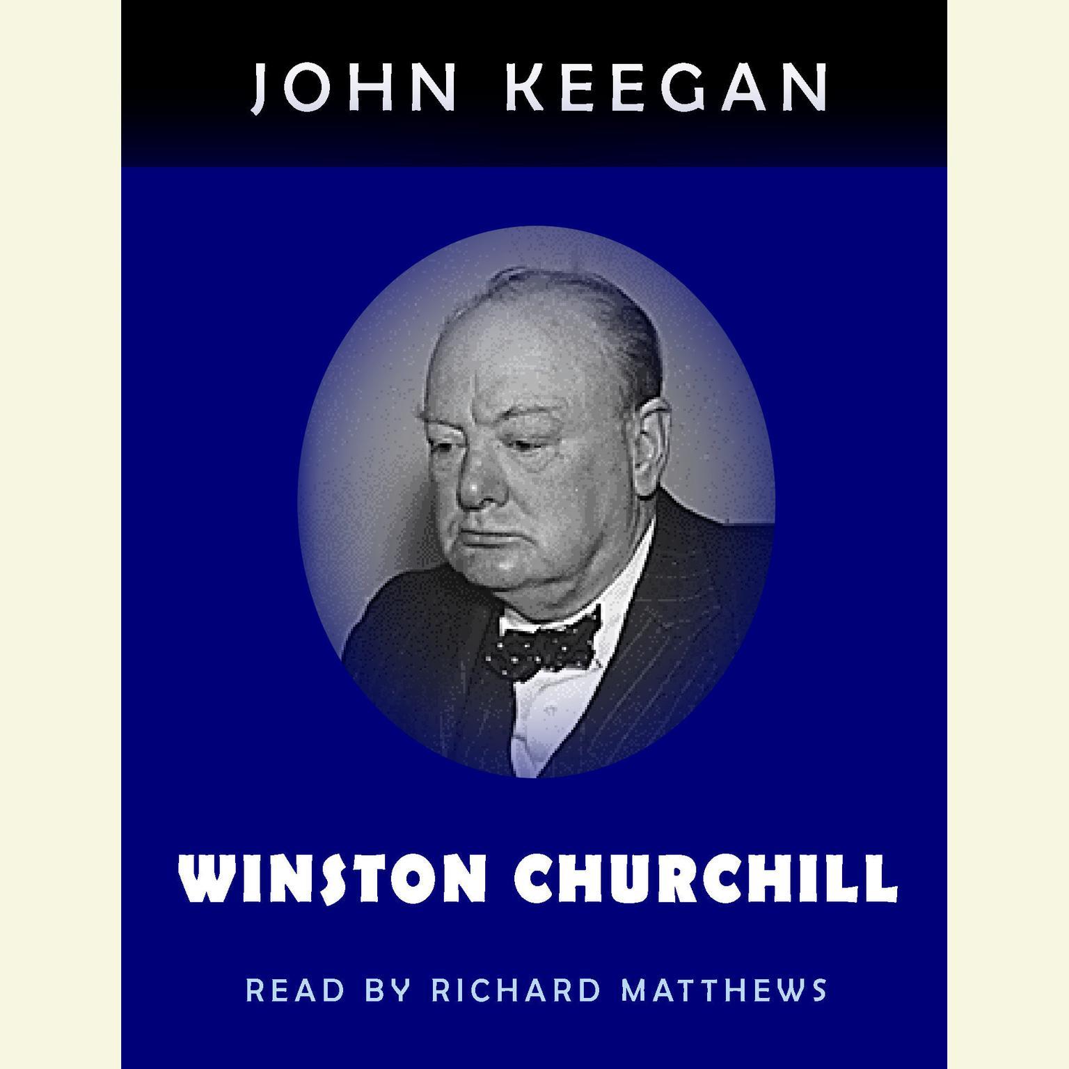 Printable Winston Churchill Audiobook Cover Art