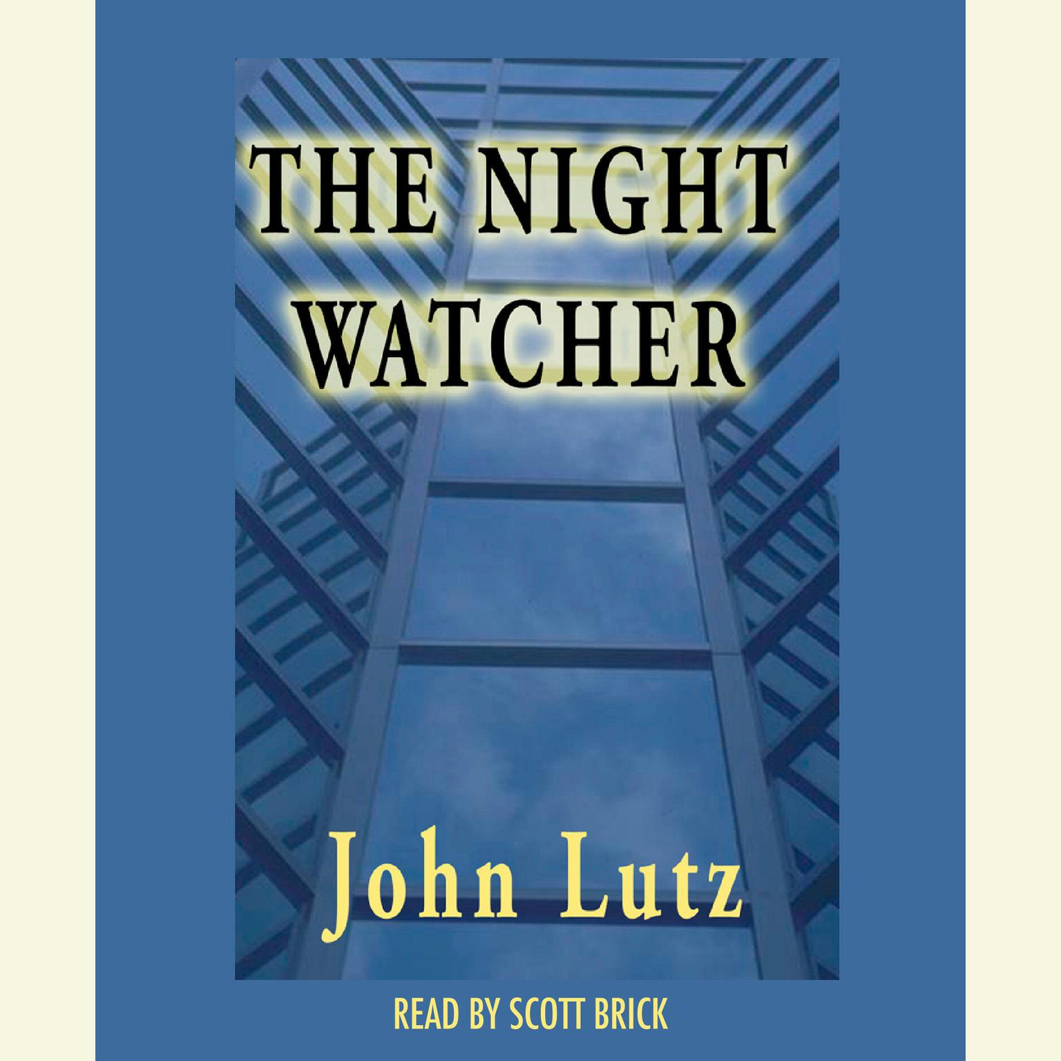 Printable The Night Watcher Audiobook Cover Art