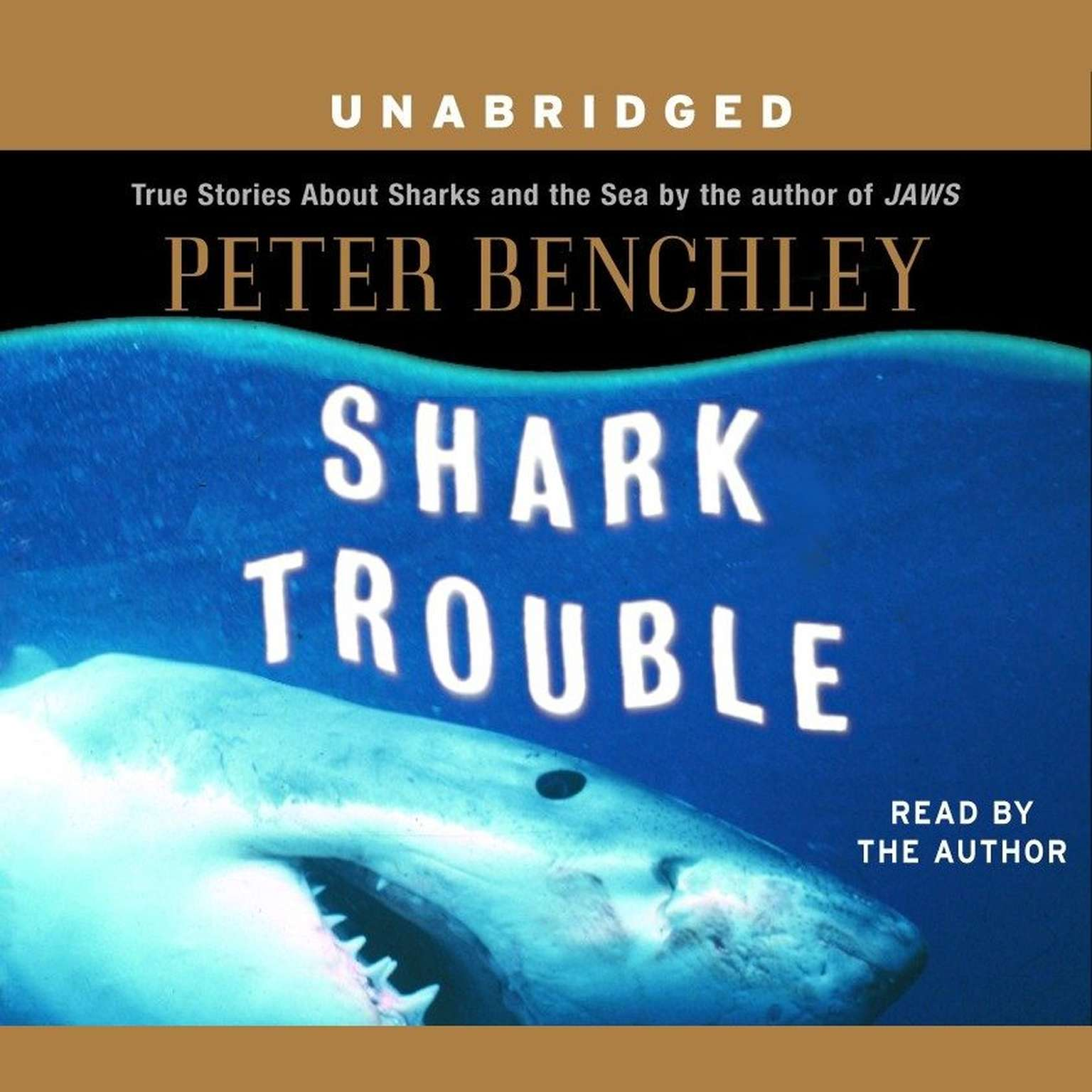Printable Shark Trouble: True Stories About Sharks and the Sea Audiobook Cover Art