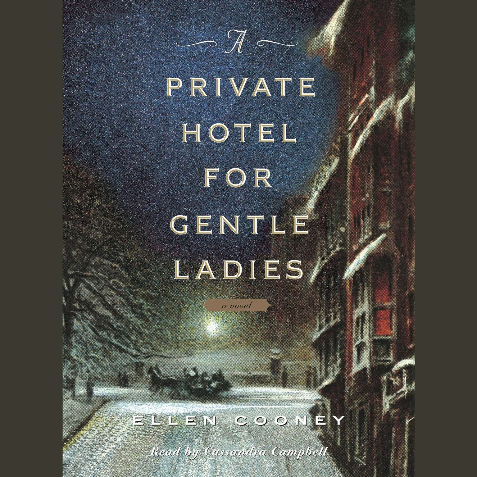 Printable A Private Hotel for Gentle Ladies: A novel Audiobook Cover Art