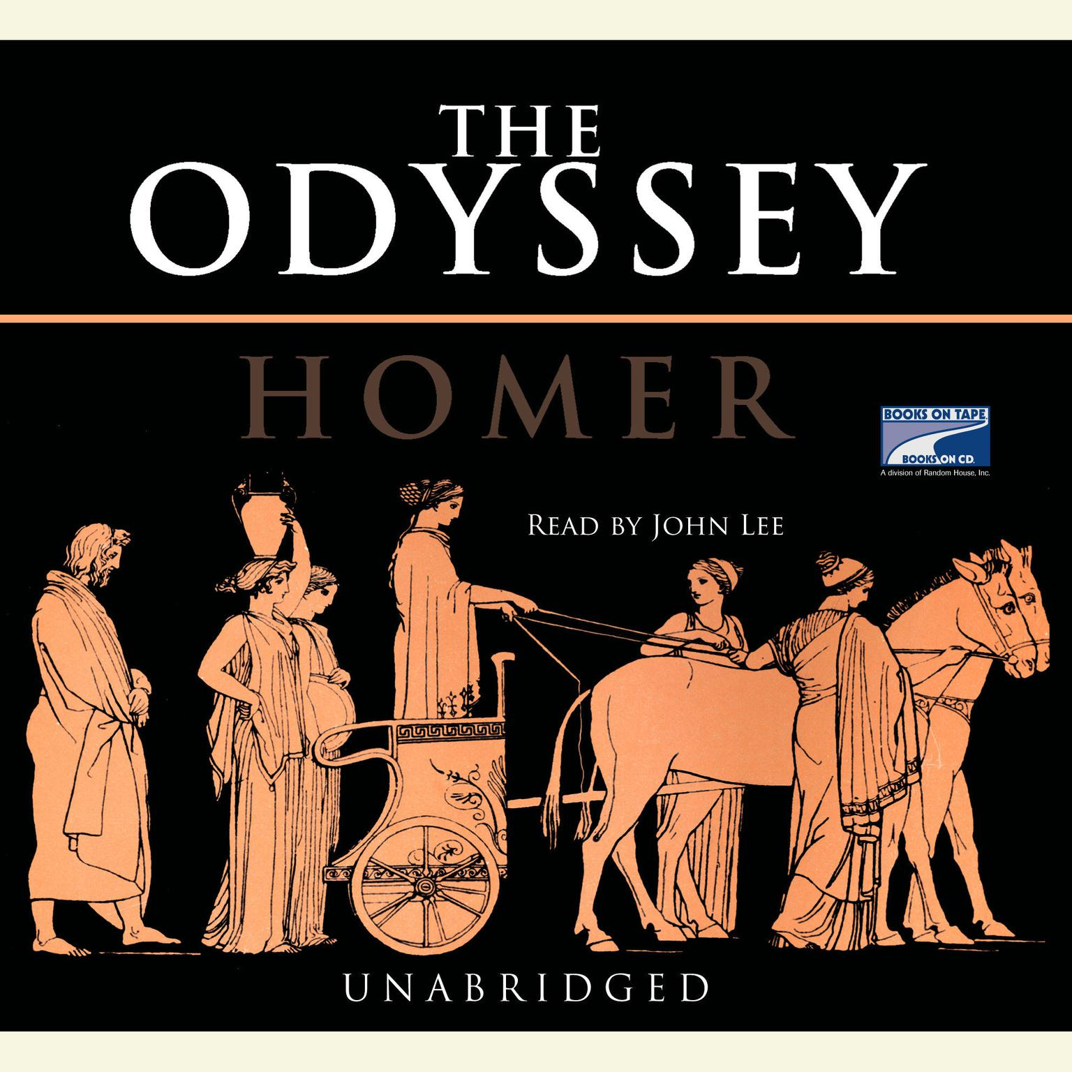 Printable The Odyssey Audiobook Cover Art