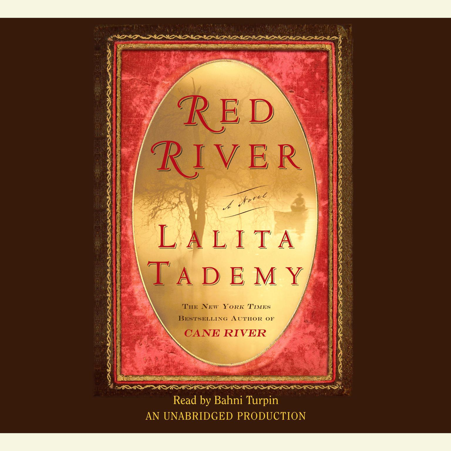 Printable Red River Audiobook Cover Art