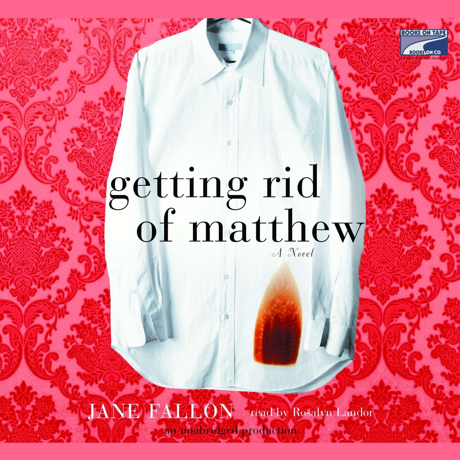 Printable Getting Rid of Matthew Audiobook Cover Art