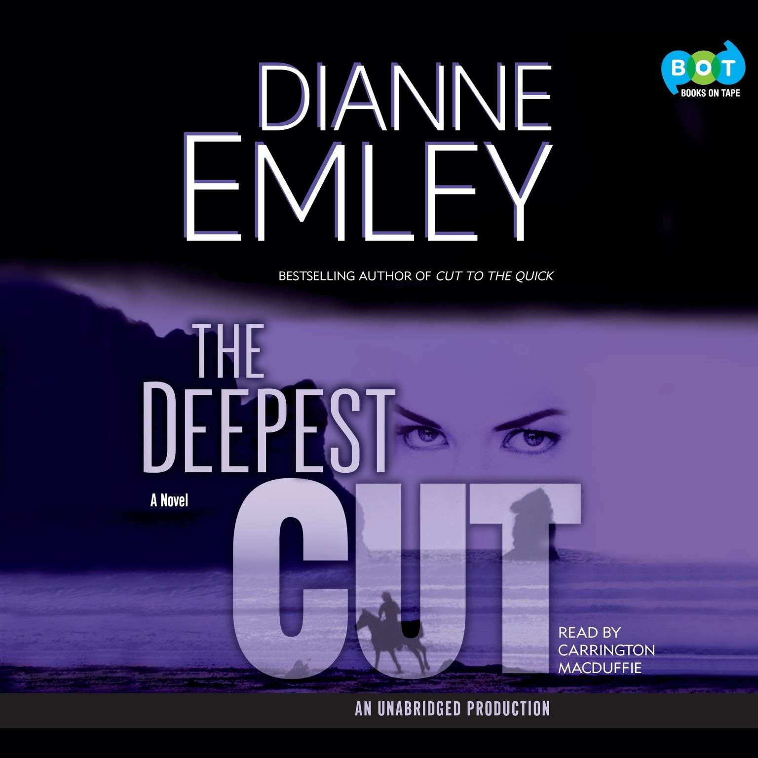 Printable The Deepest Cut: A Novel Audiobook Cover Art