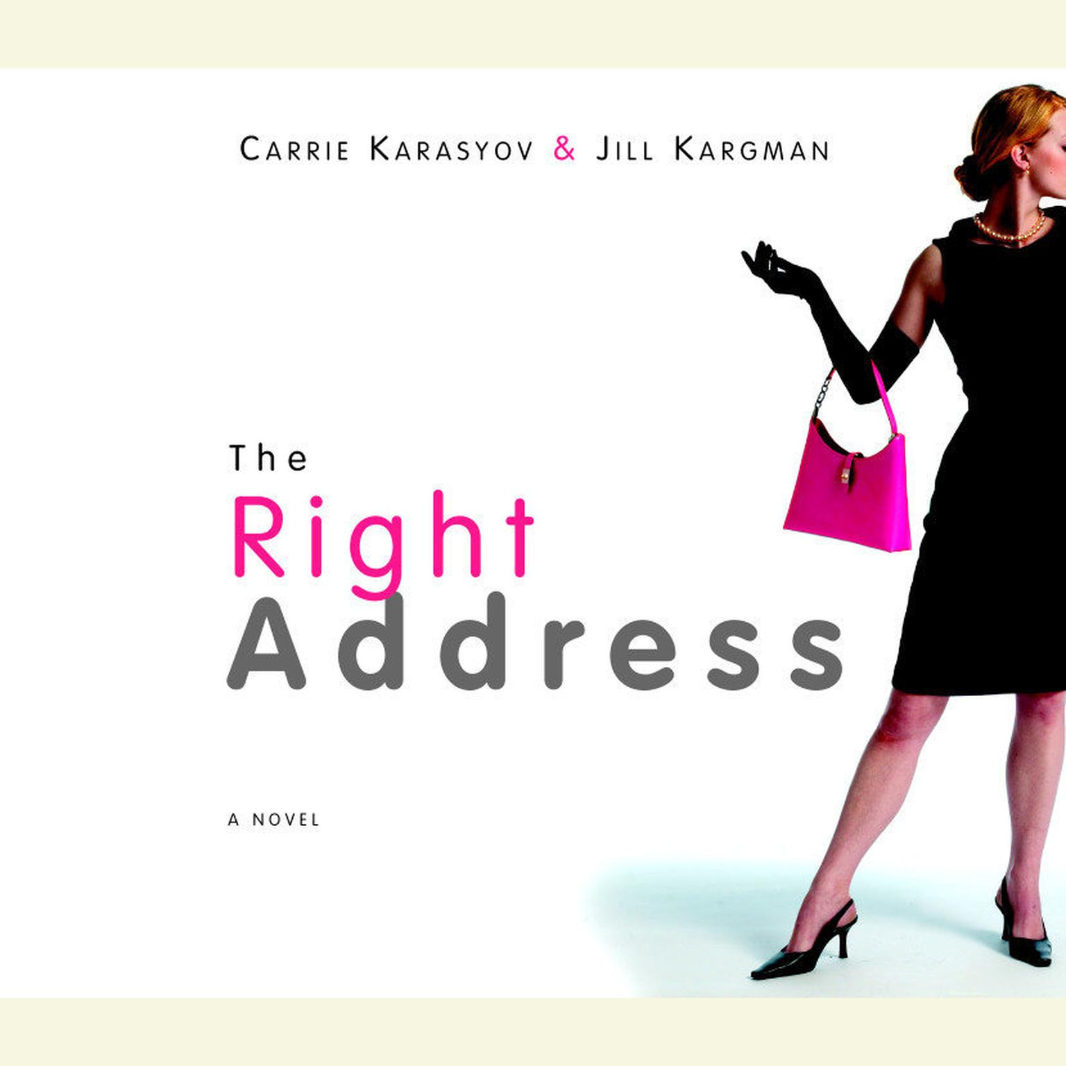 Printable The Right Address Audiobook Cover Art