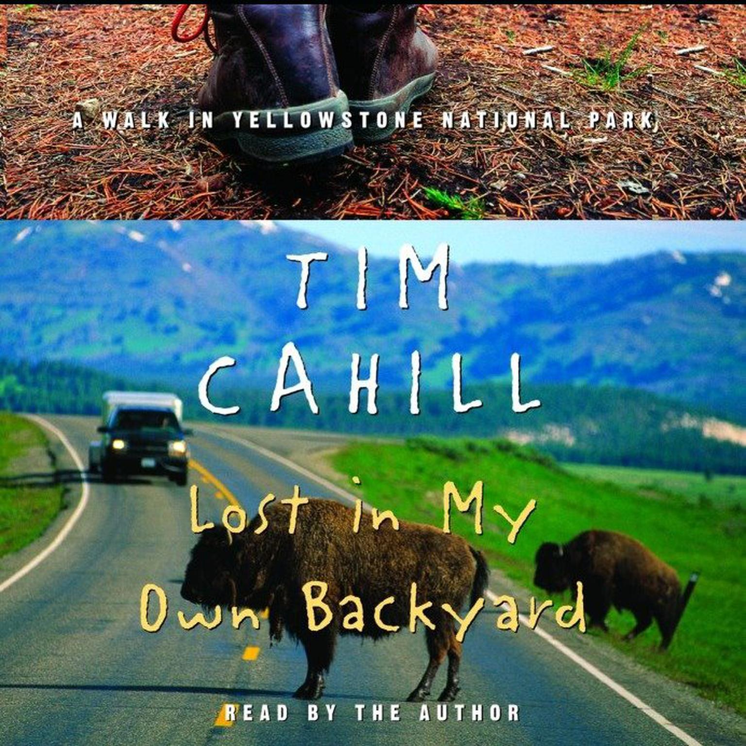 Printable Lost in My Own Backyard: A Walk in Yellowstone National Park Audiobook Cover Art