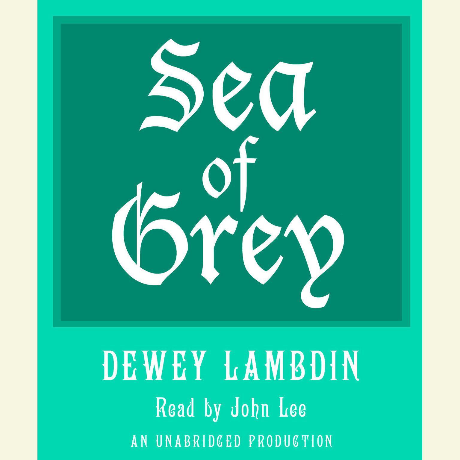 Printable Sea of Grey Audiobook Cover Art