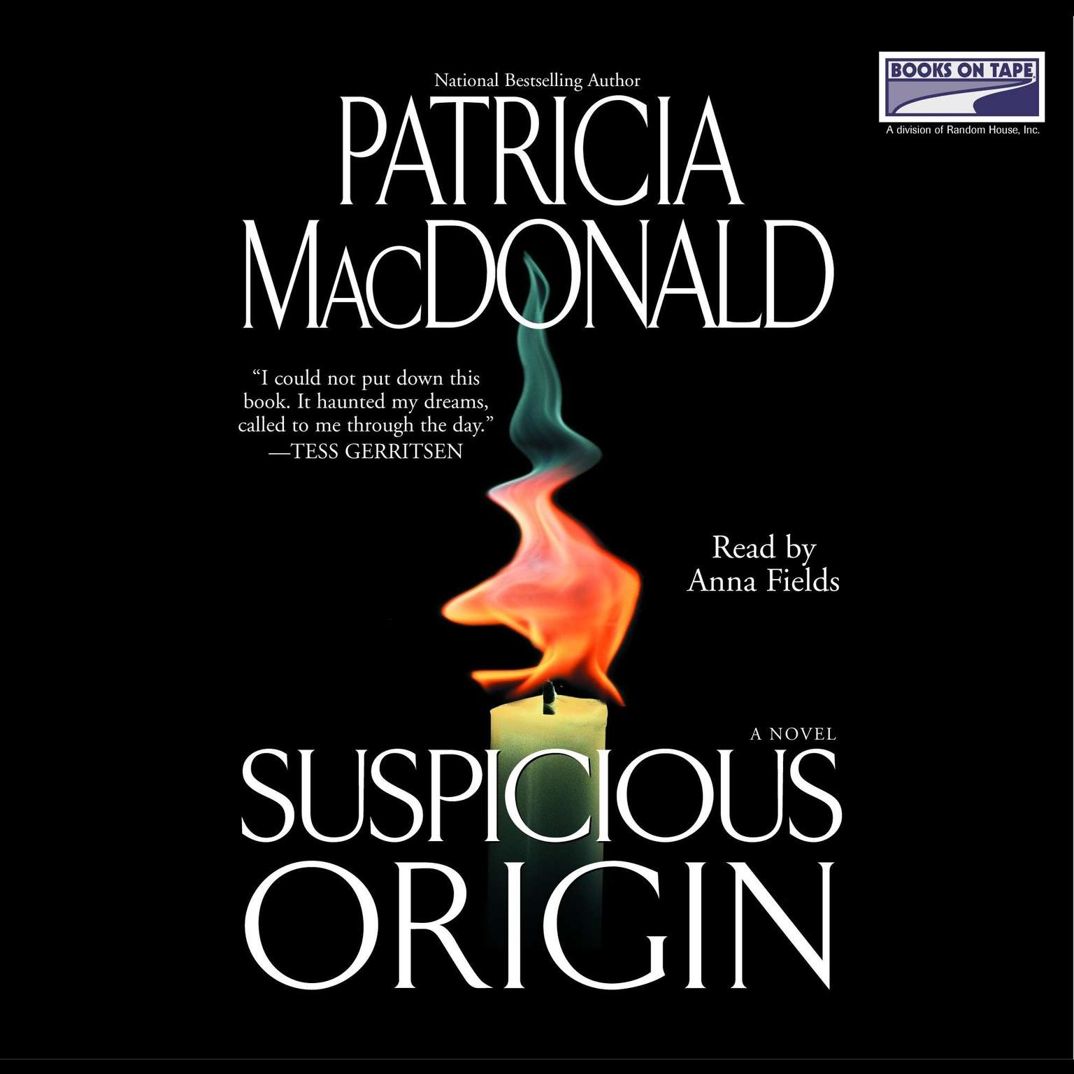 Printable Suspicious Origin Audiobook Cover Art