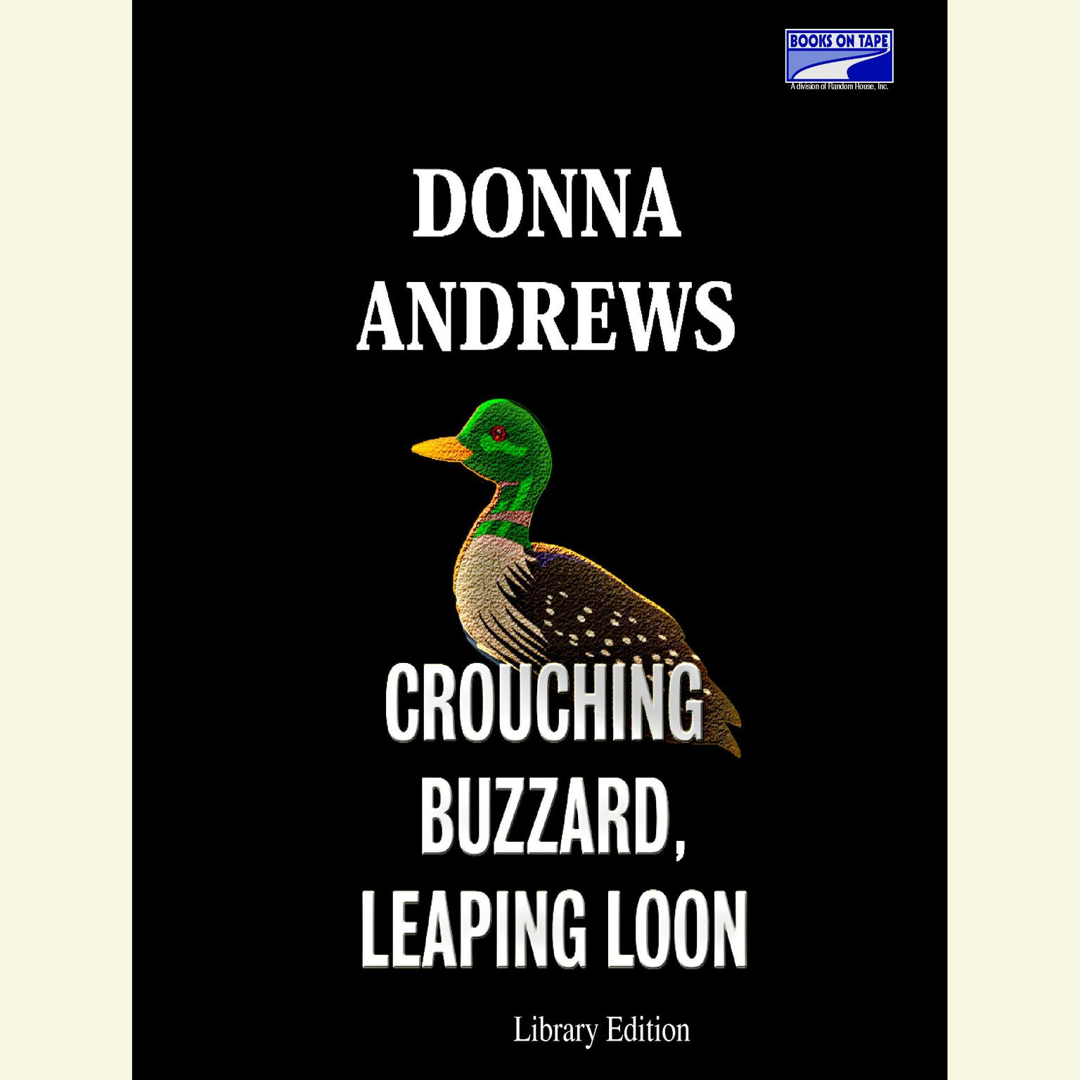 Printable Crouching Buzzard, Leaping Loon Audiobook Cover Art