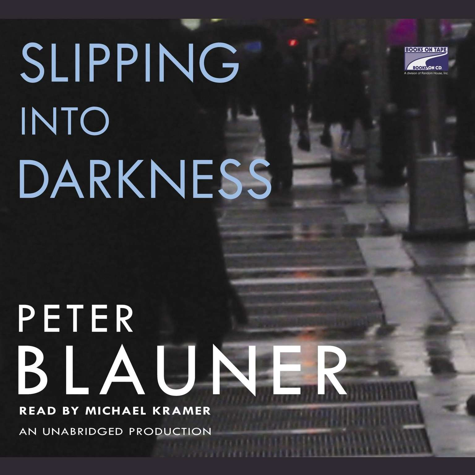 Printable Slipping into Darkness Audiobook Cover Art