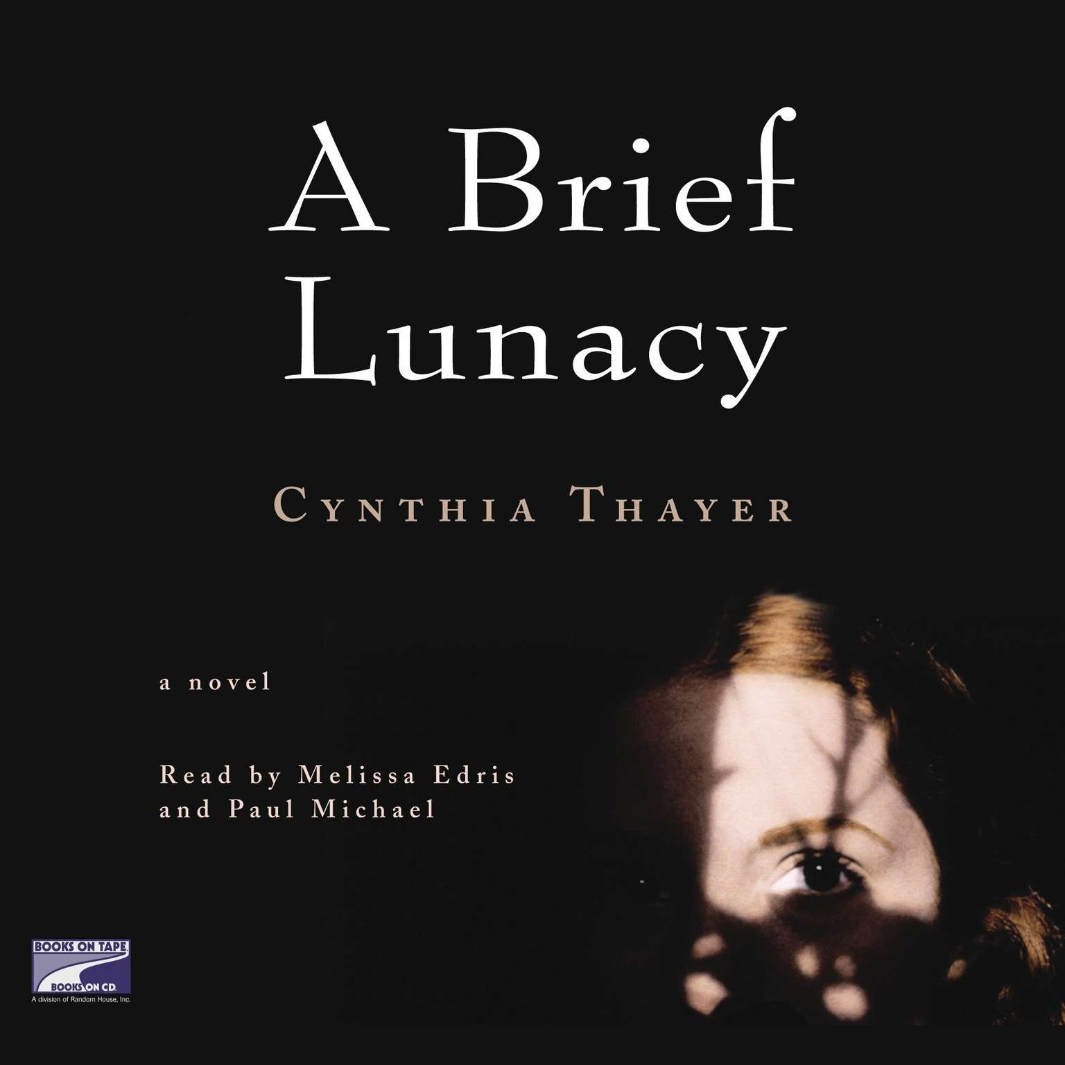 Printable A Brief Lunacy Audiobook Cover Art