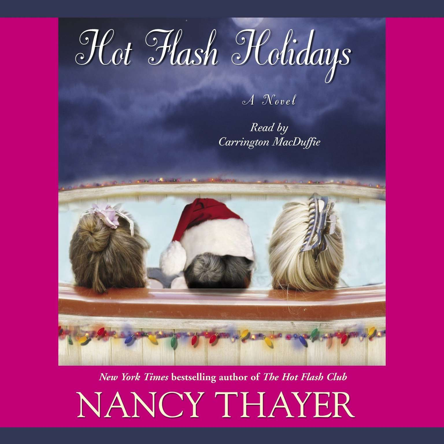 Printable Hot Flash Holidays: A Novel Audiobook Cover Art