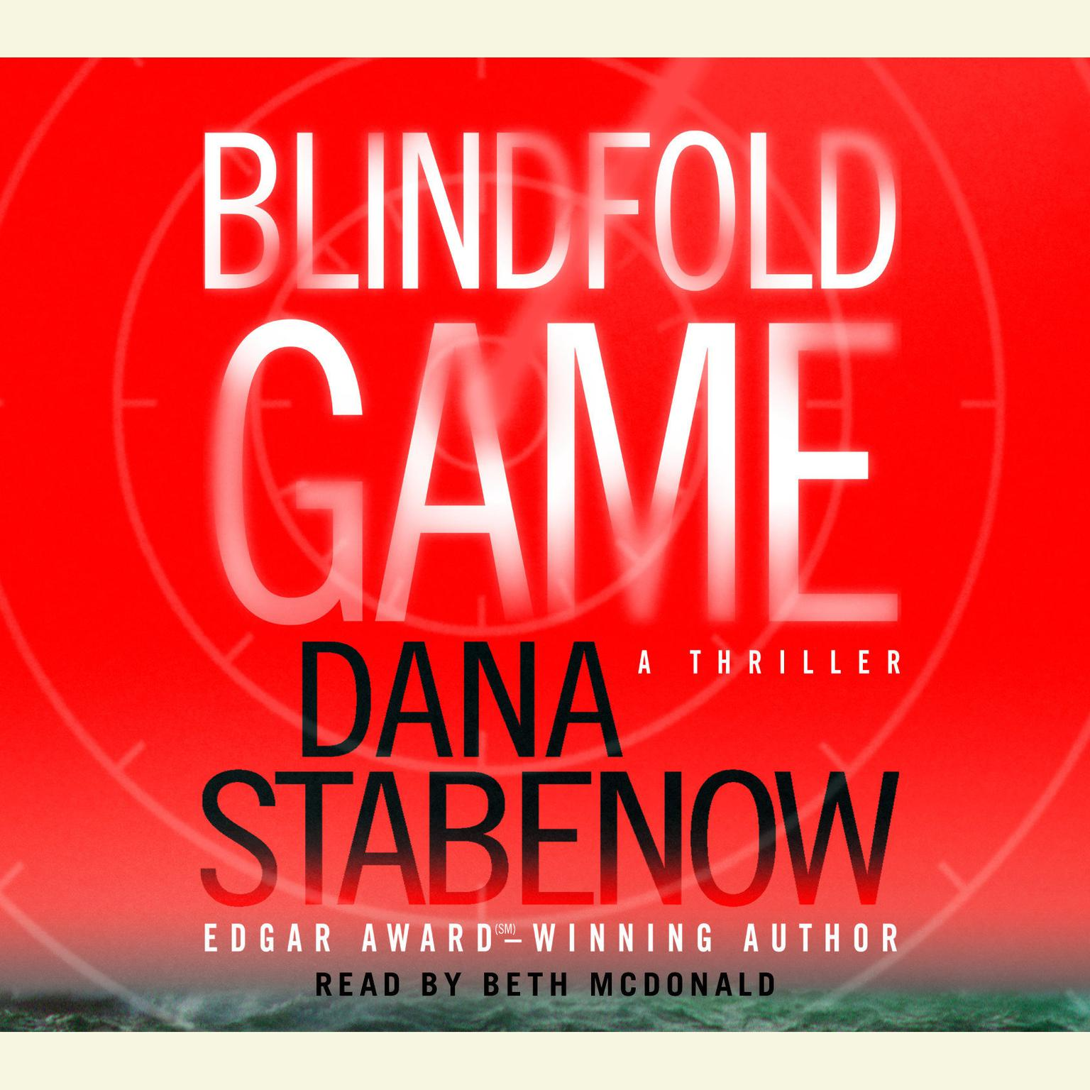 Printable Blindfold Game Audiobook Cover Art