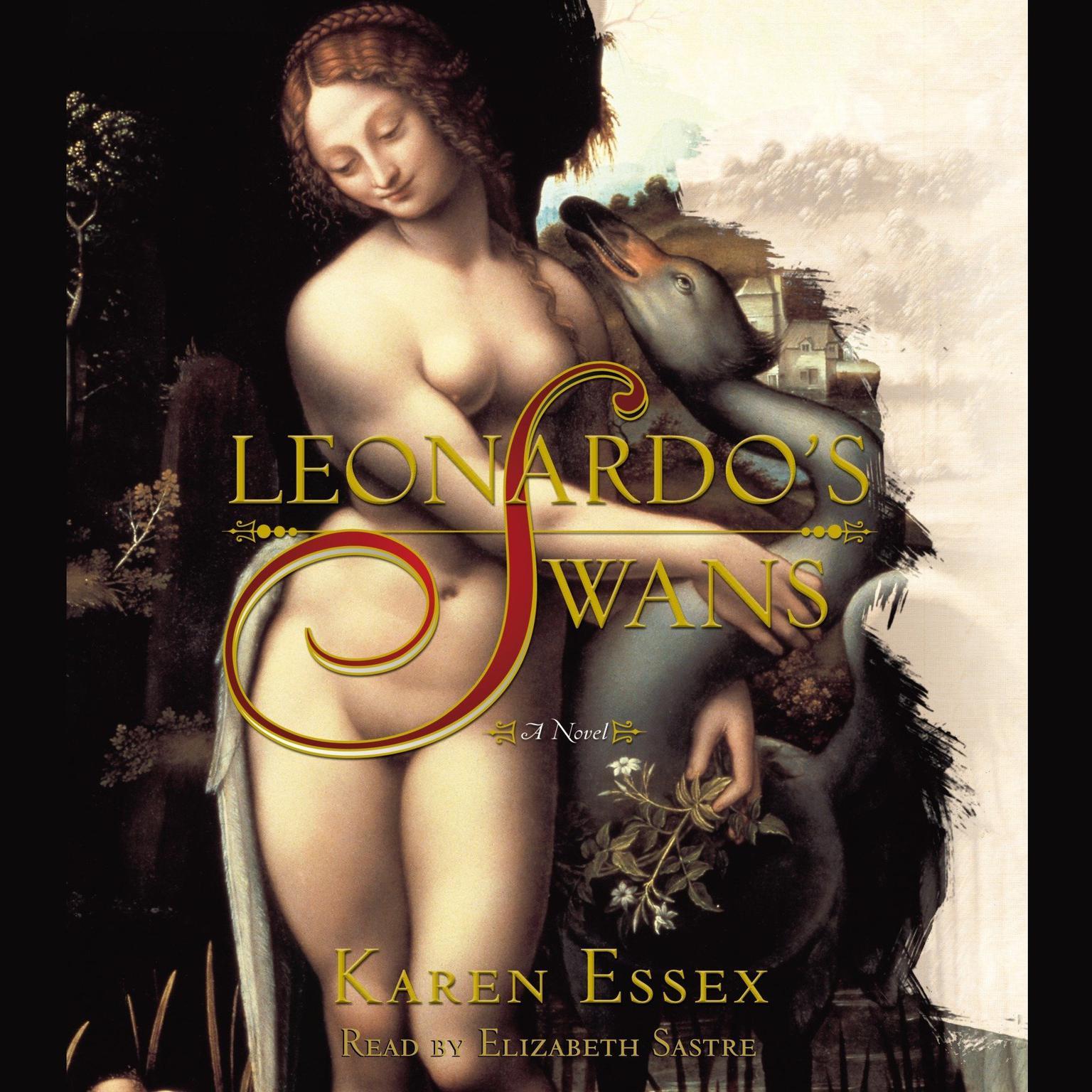 Printable Leonardo's Swans Audiobook Cover Art