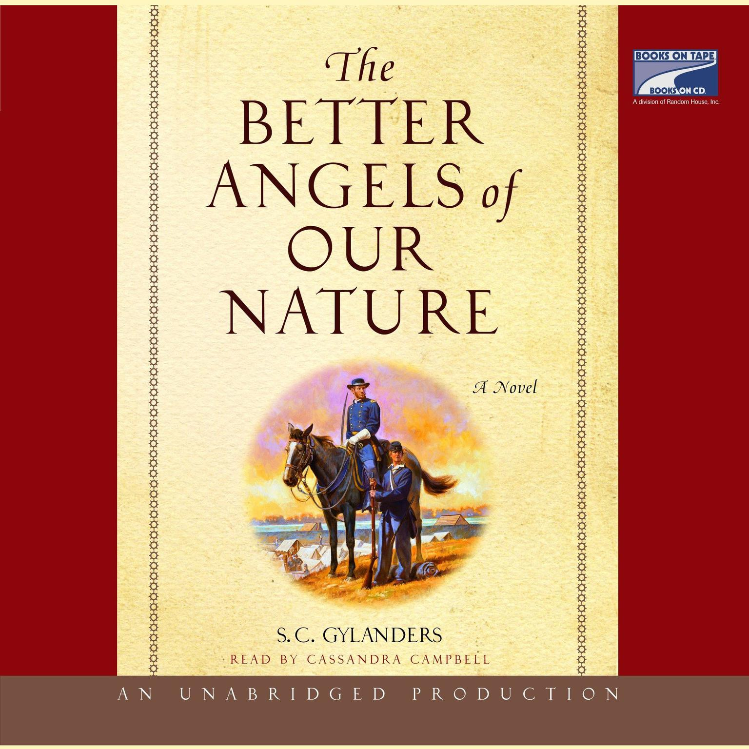 Printable The Better Angels of Our Nature: A Novel Audiobook Cover Art