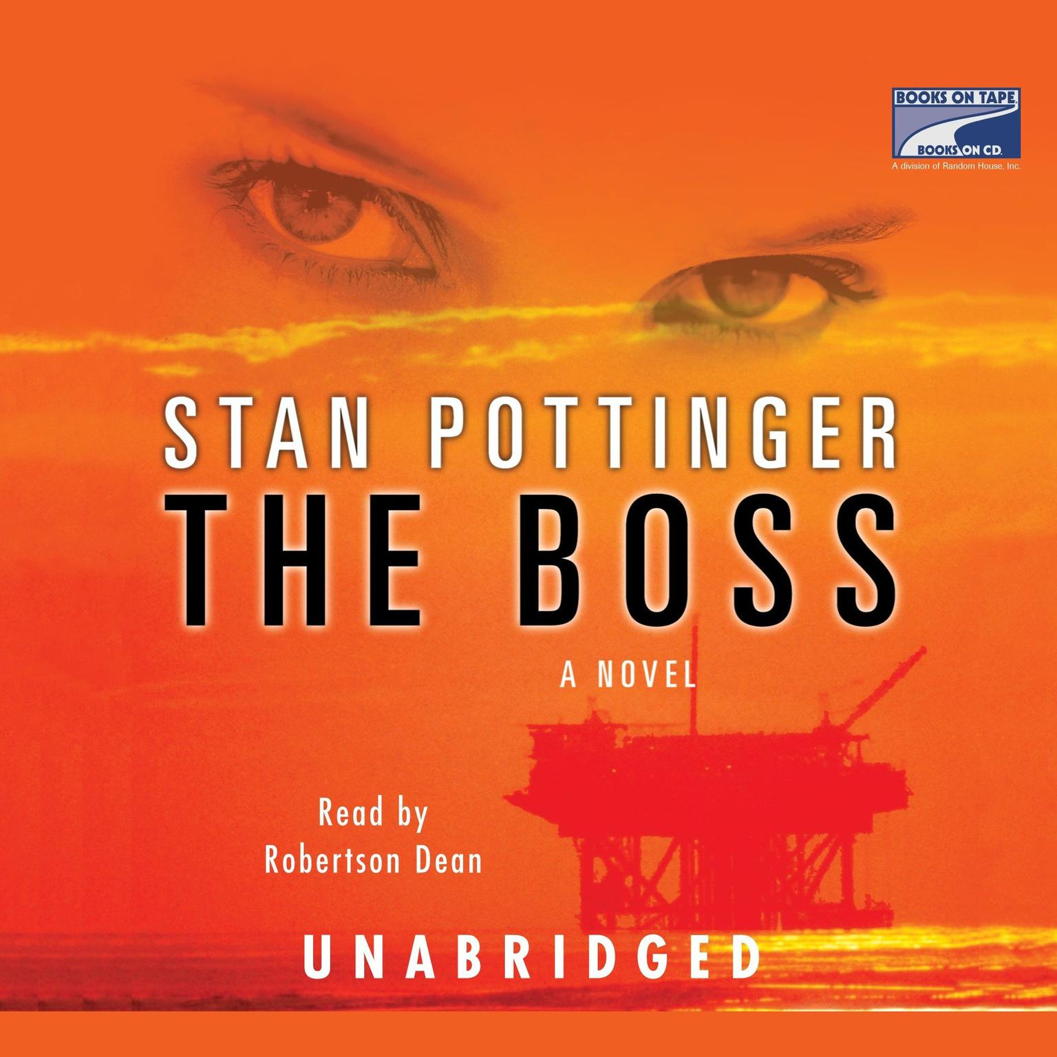 Printable The Boss Audiobook Cover Art