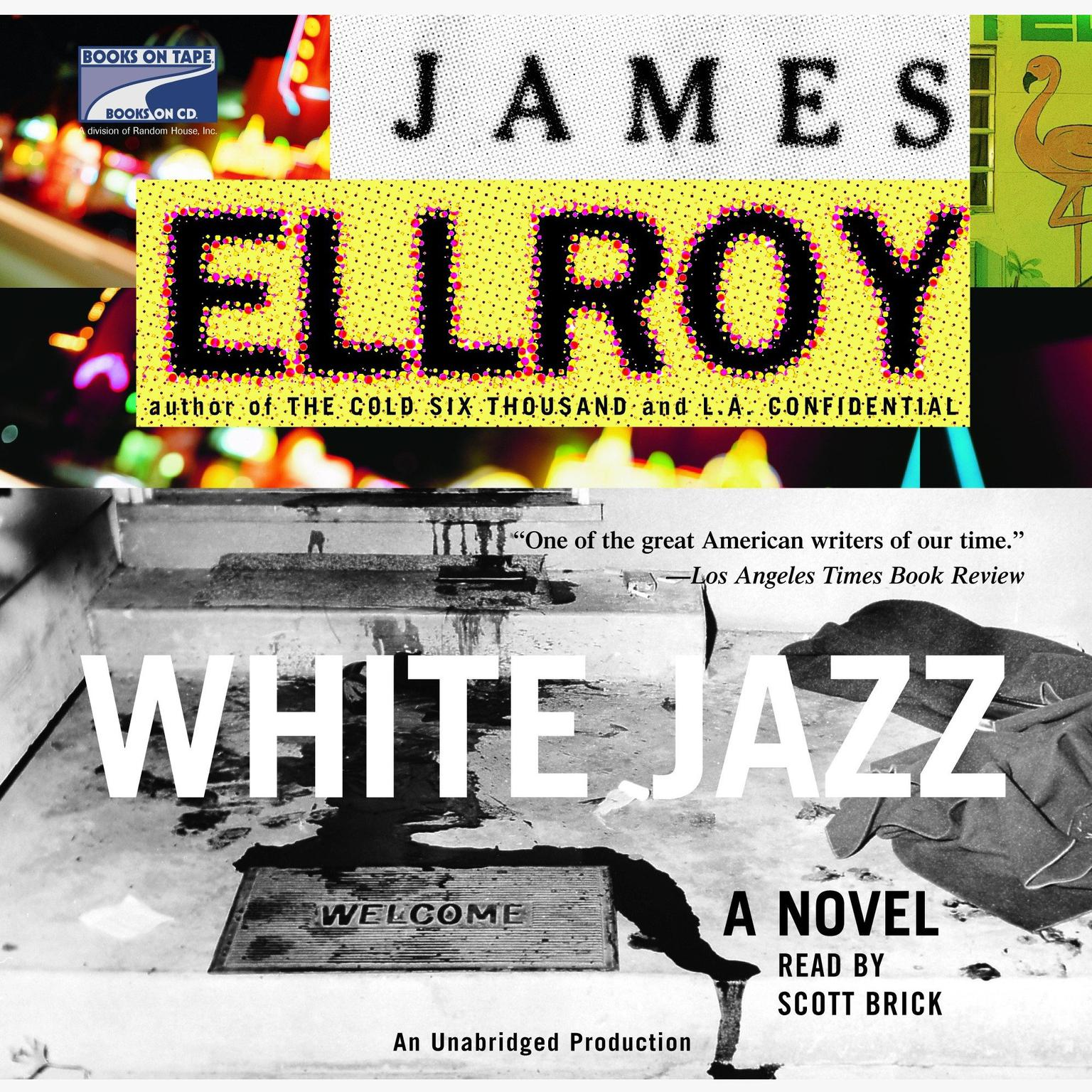 Printable White Jazz: A Novel Audiobook Cover Art