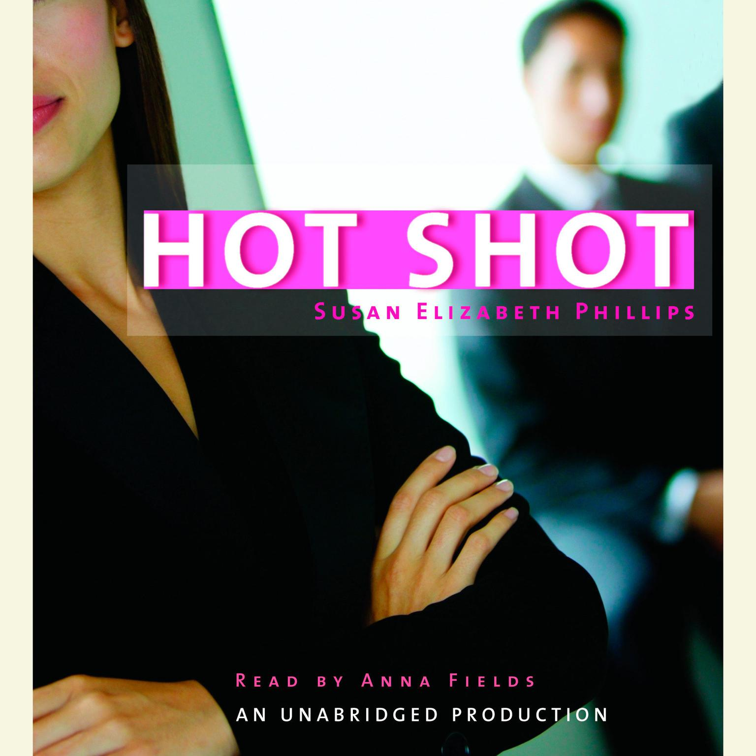 Printable Hot Shot Audiobook Cover Art