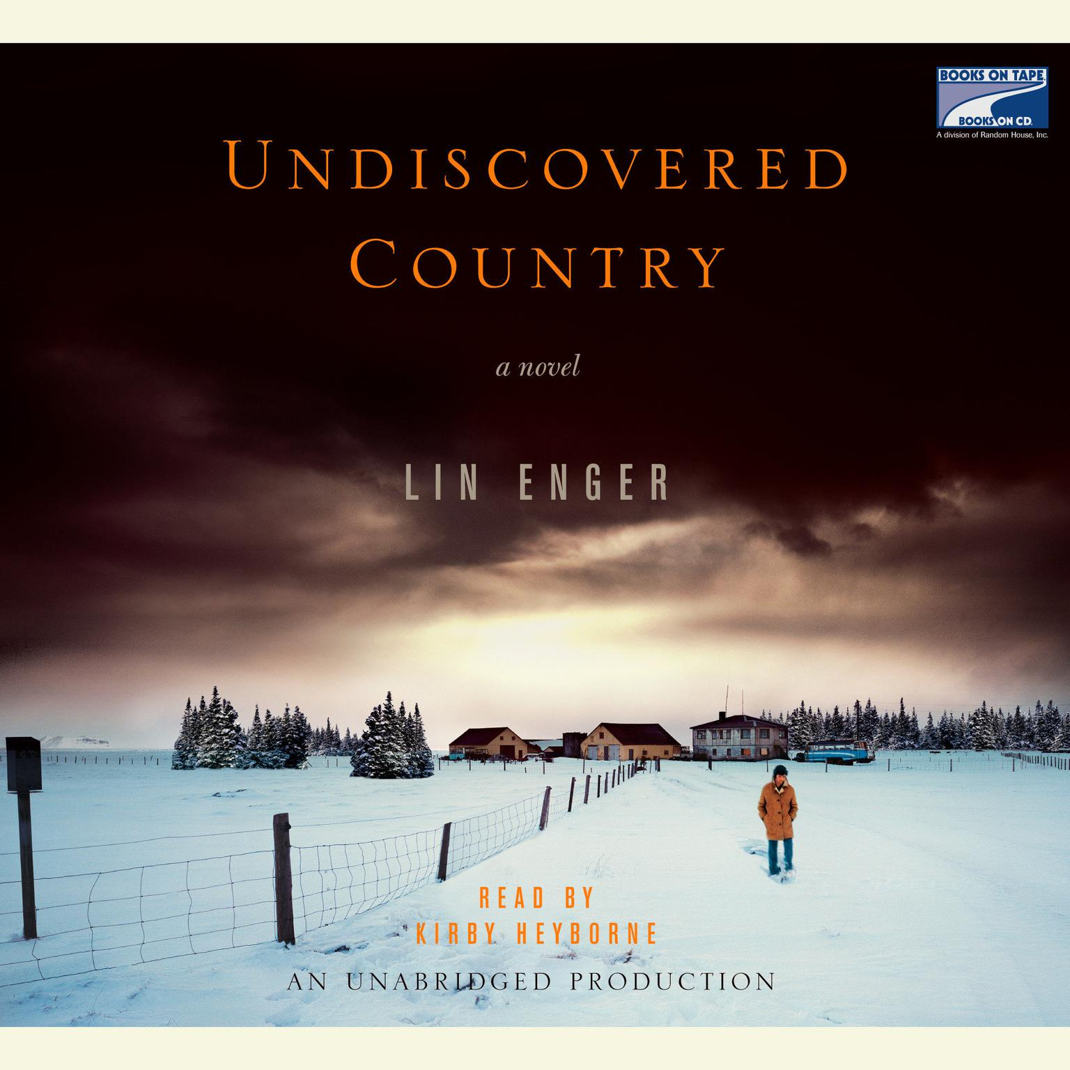 Printable Undiscovered Country Audiobook Cover Art
