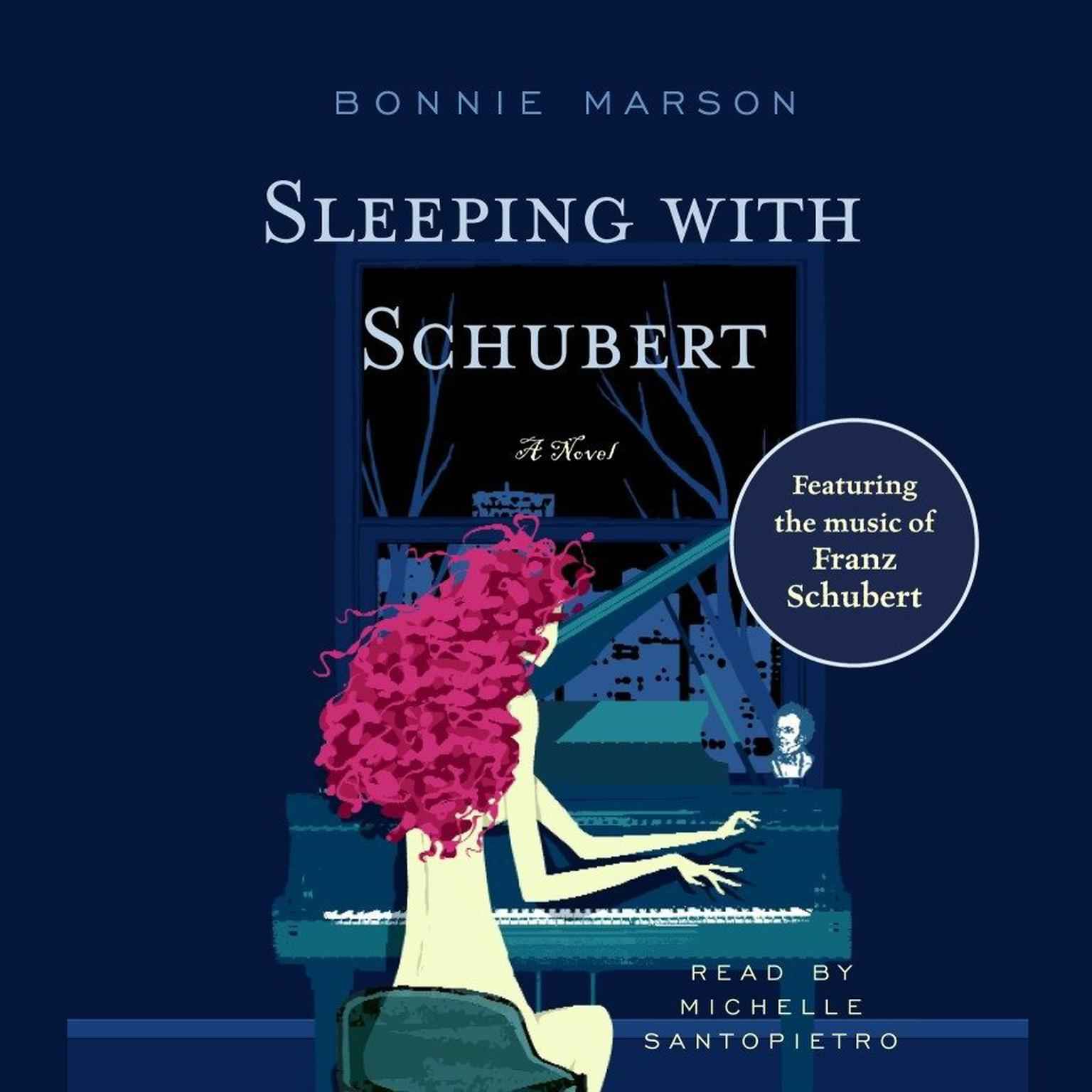 Printable Sleeping with Schubert: A Novel Audiobook Cover Art
