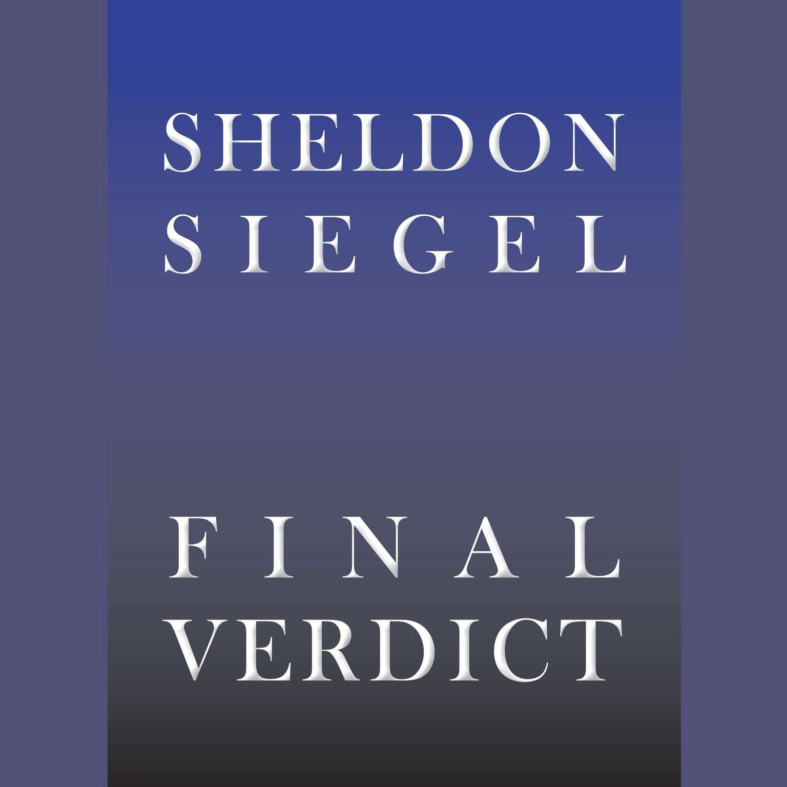 Printable Final Verdict Audiobook Cover Art