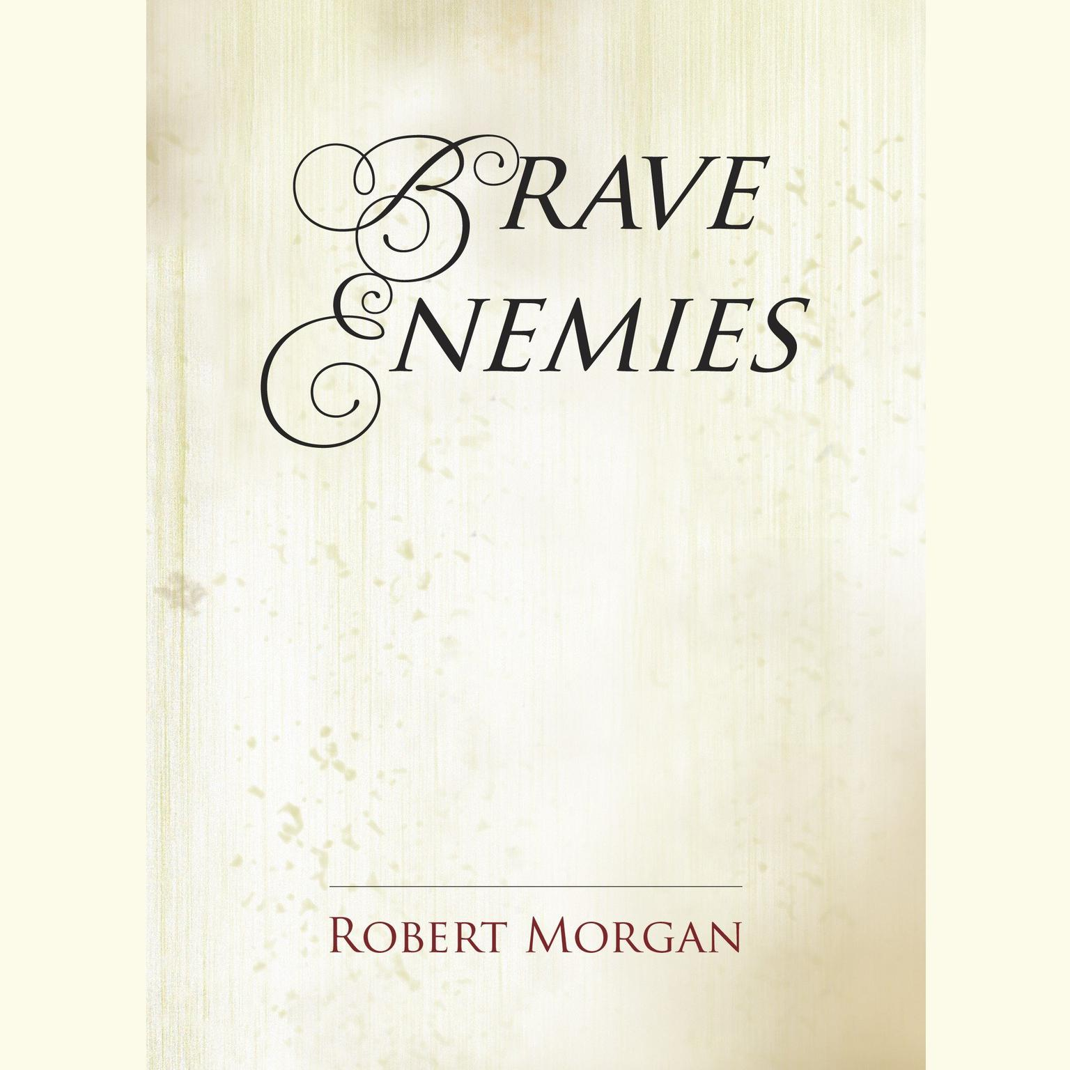 Printable Brave Enemies Audiobook Cover Art