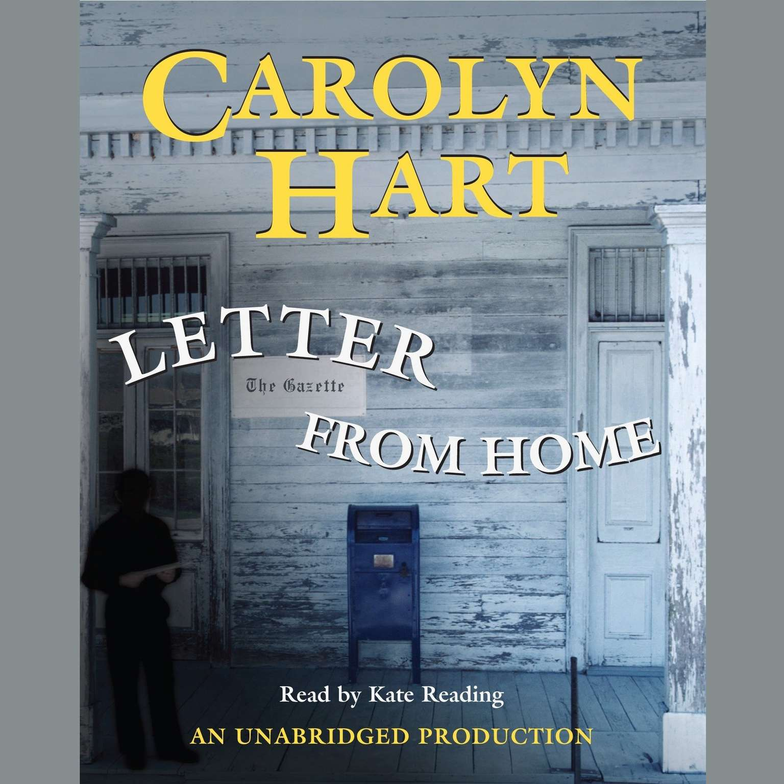 Printable Letter From Home Audiobook Cover Art