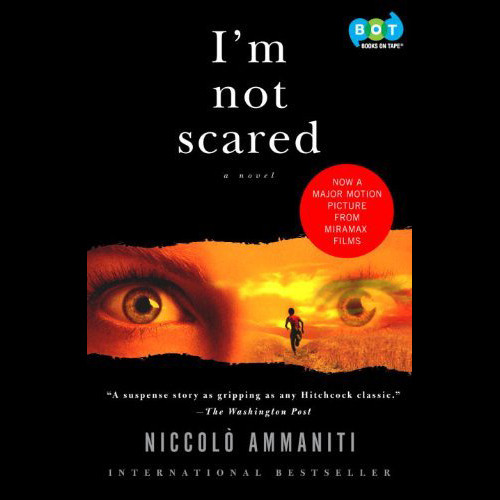 Printable I'm Not Scared Audiobook Cover Art