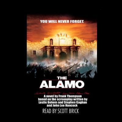 The Alamo Audiobook, by Frank Thompson