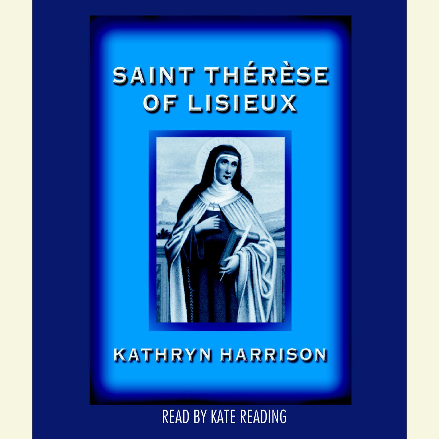 Printable Saint Therese of Lisieux Audiobook Cover Art