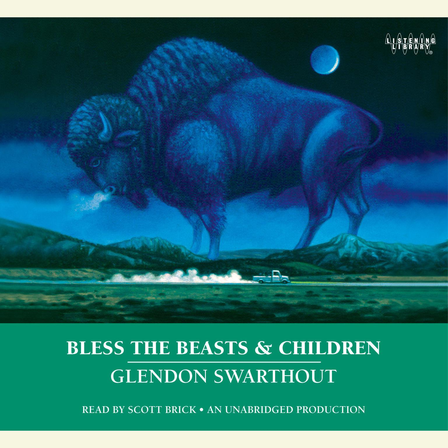 Printable Bless the Beasts & Children Audiobook Cover Art