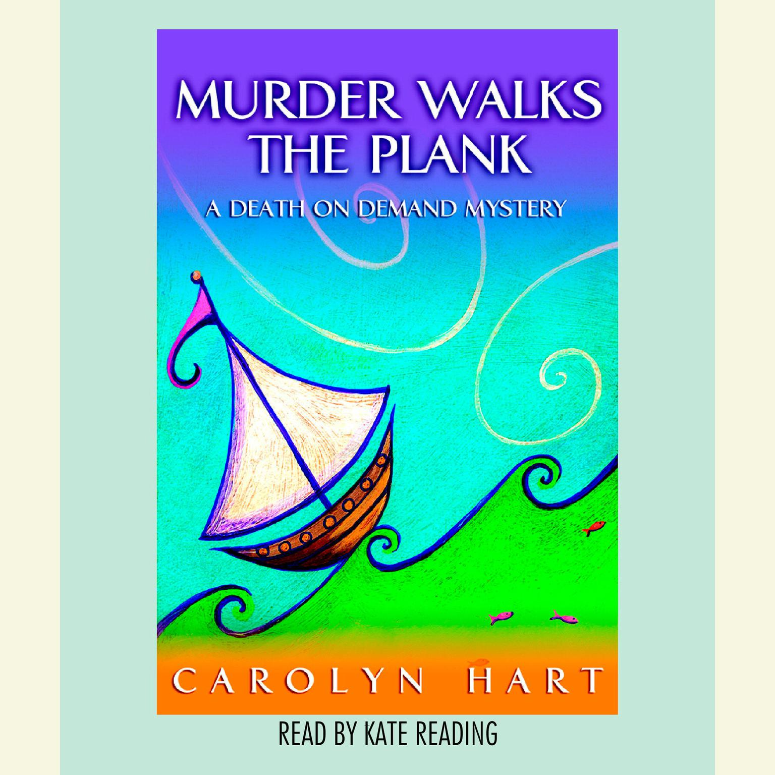 Printable Murder Walks the Plank Audiobook Cover Art